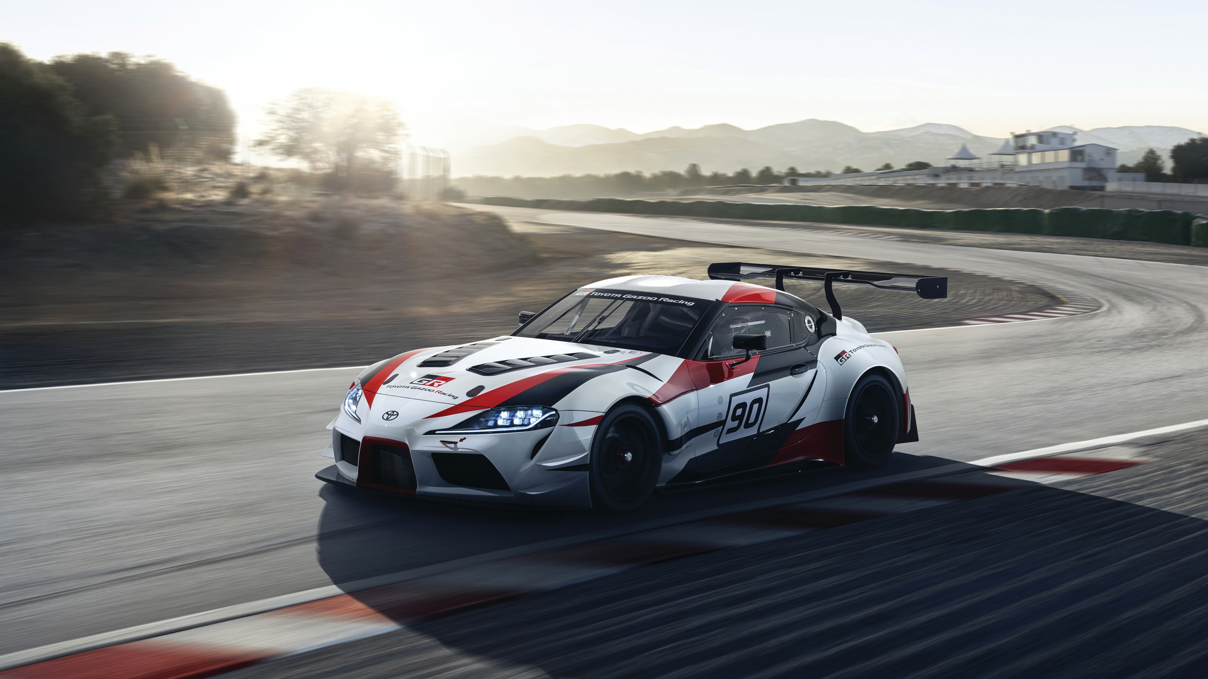 2018 Toyota Gr Supra Racing Concept 4k 2 Wallpaper Hd Car