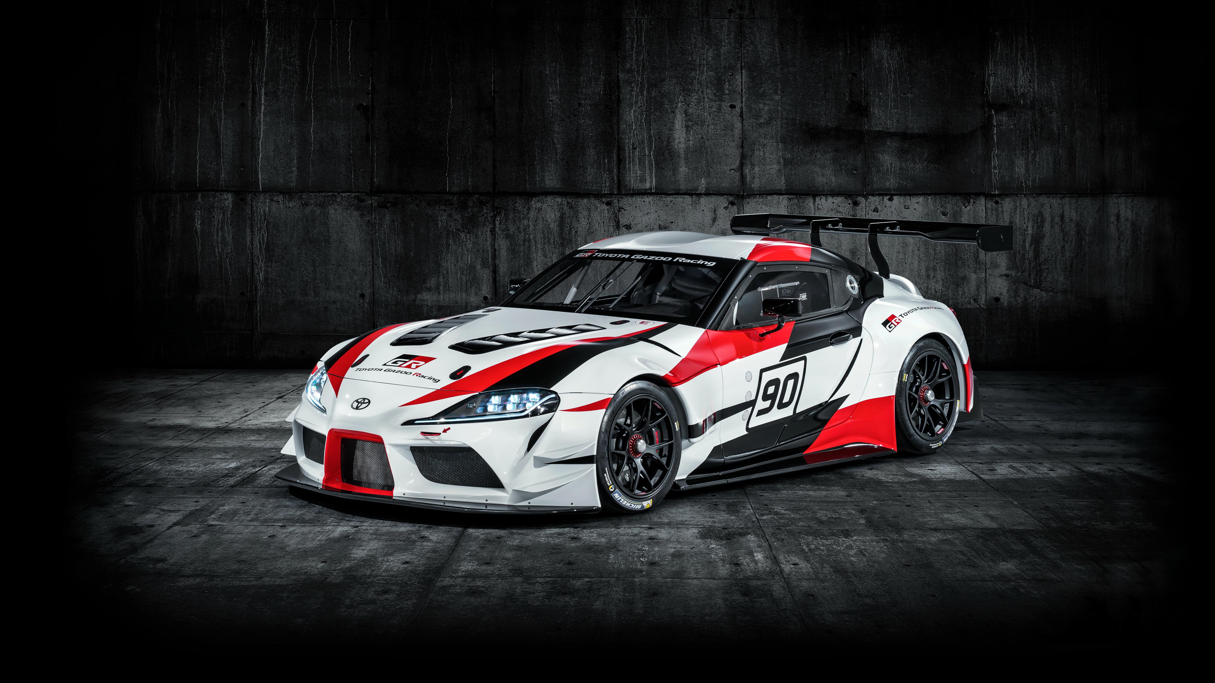 2018 Toyota Gr Supra Racing Concept 4k 3 Wallpaper Hd Car