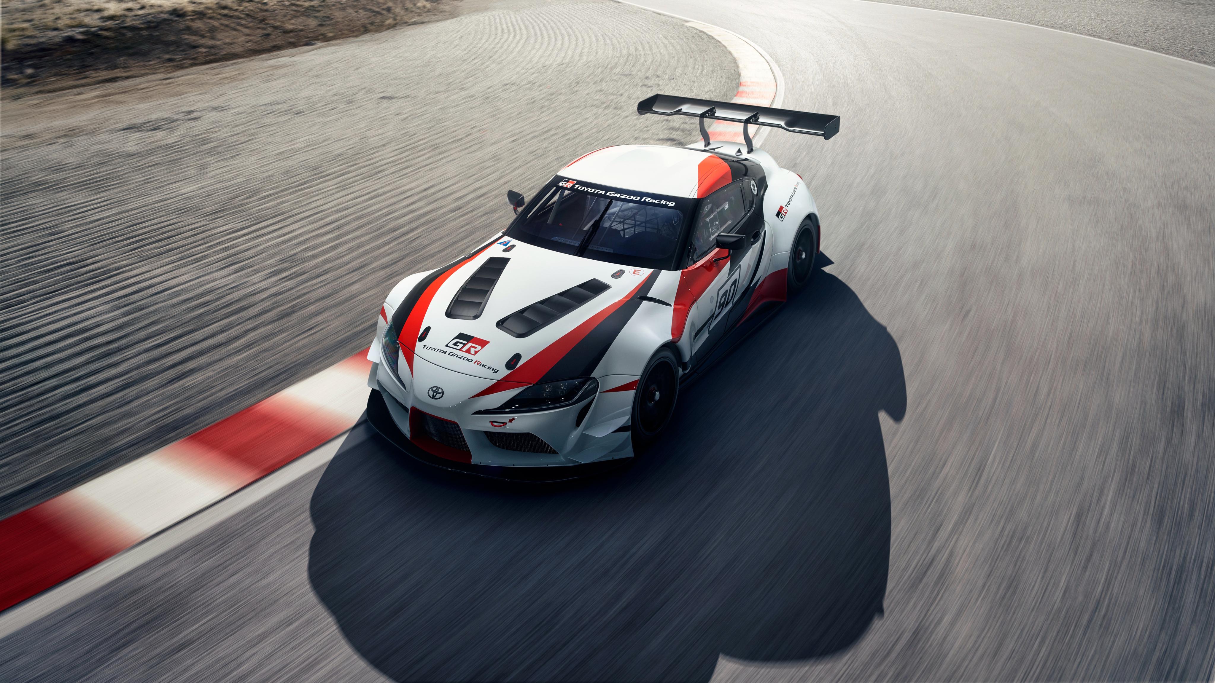 2018 Toyota GR Supra Racing Concept 4K 4 Wallpaper