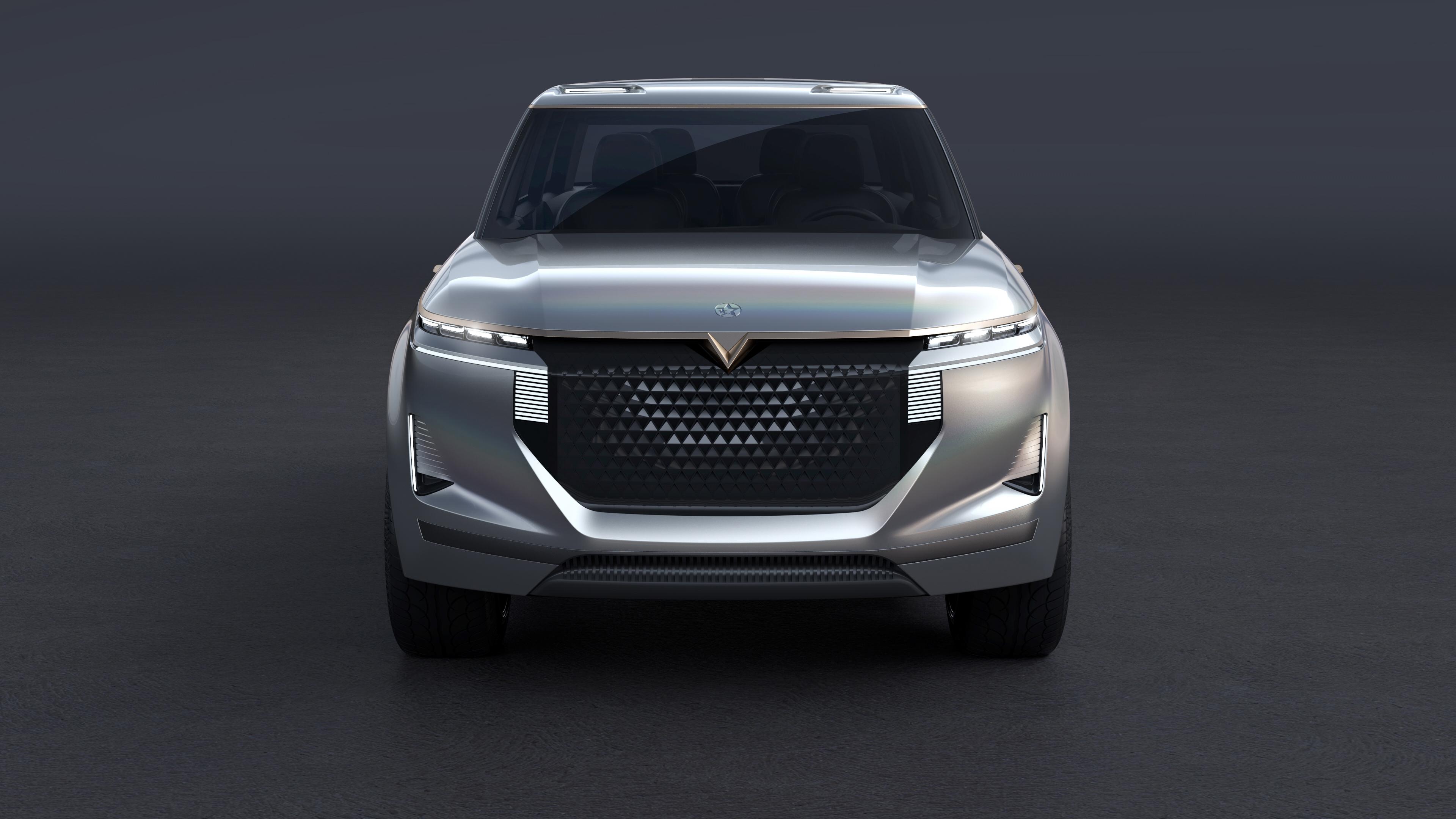 2018 Venucia The X Concept 4k 2 Wallpaper Hd Car