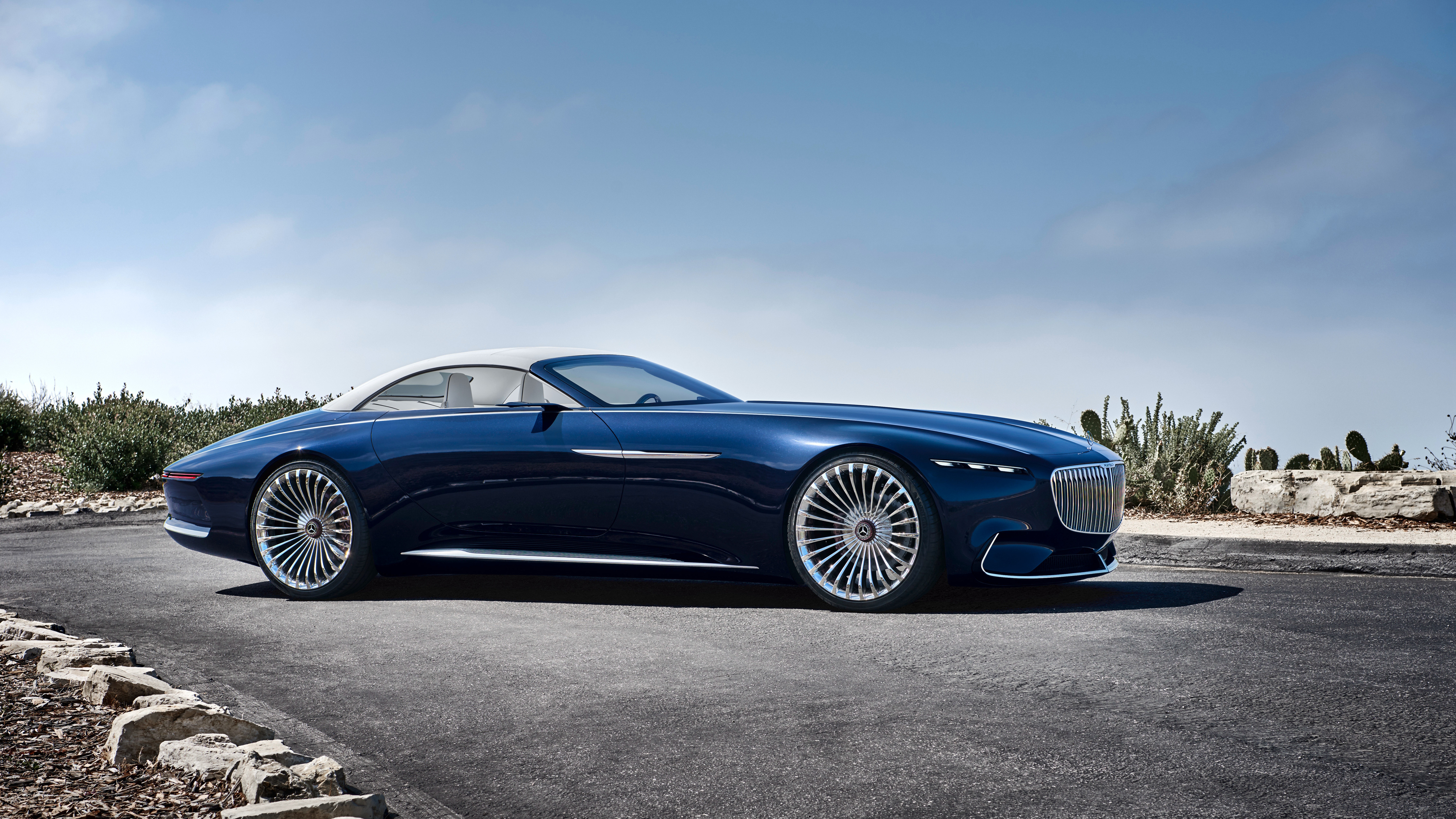 2018 vision mercedes maybach 6 cabriolet 4 wallpaper | hd car