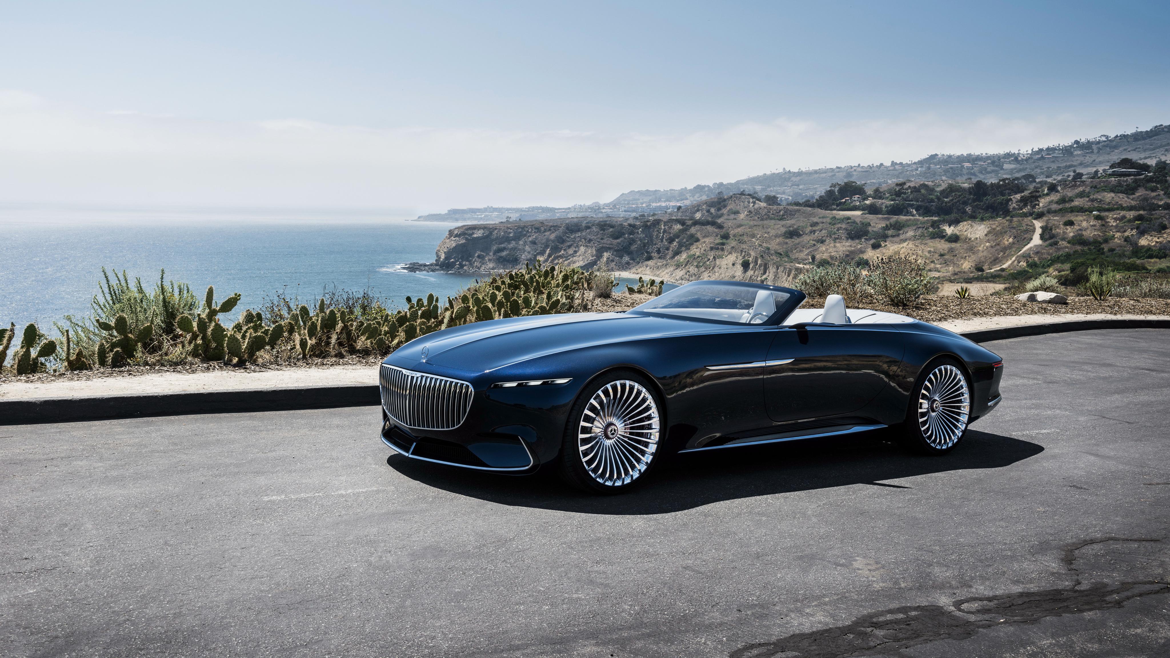2018 vision mercedes maybach 6 cabriolet 5 wallpaper | hd car