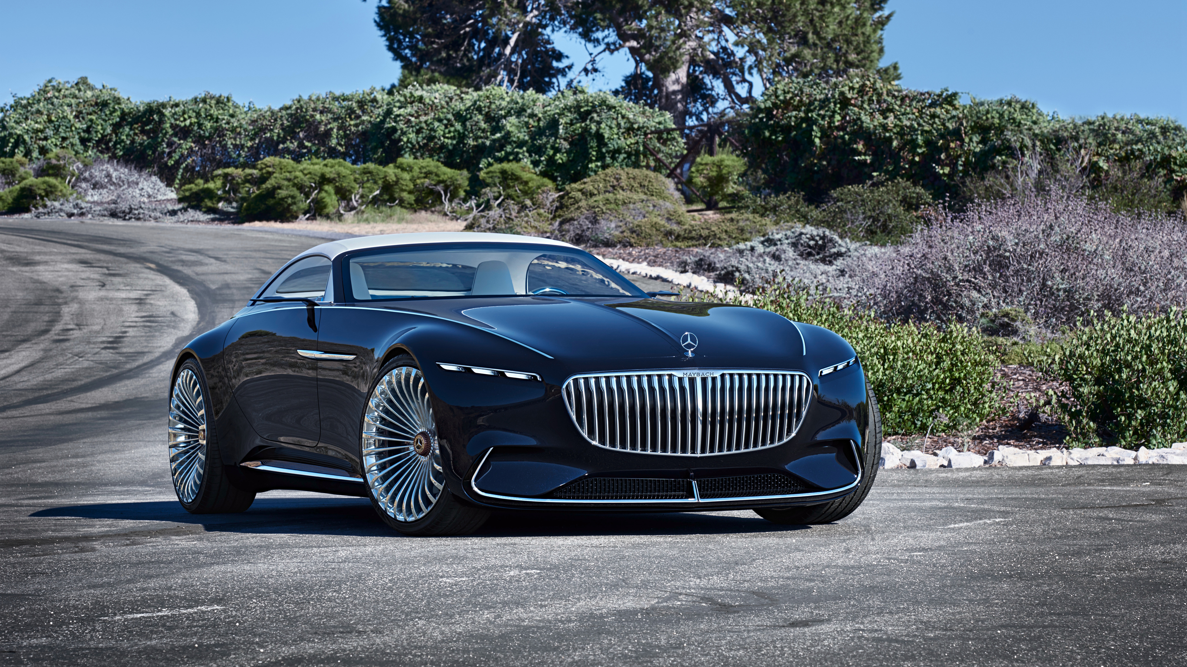 2018 Vision Mercedes Maybach 6 Cabriolet 6 Wallpaper Hd