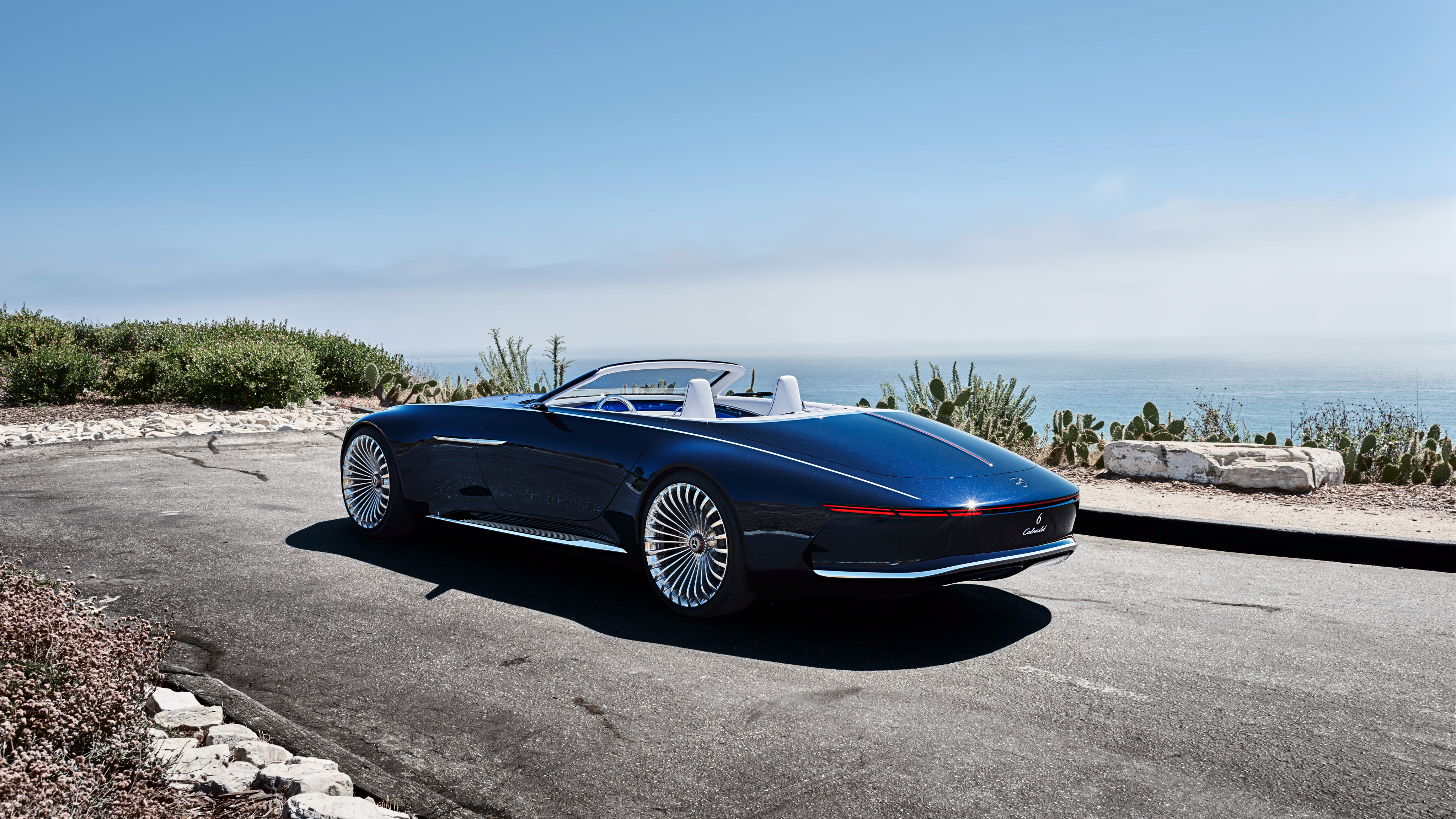 2018 Vision Mercedes Maybach 6 Cabriolet 8 Wallpaper Hd Car Wallpapers Id 8281