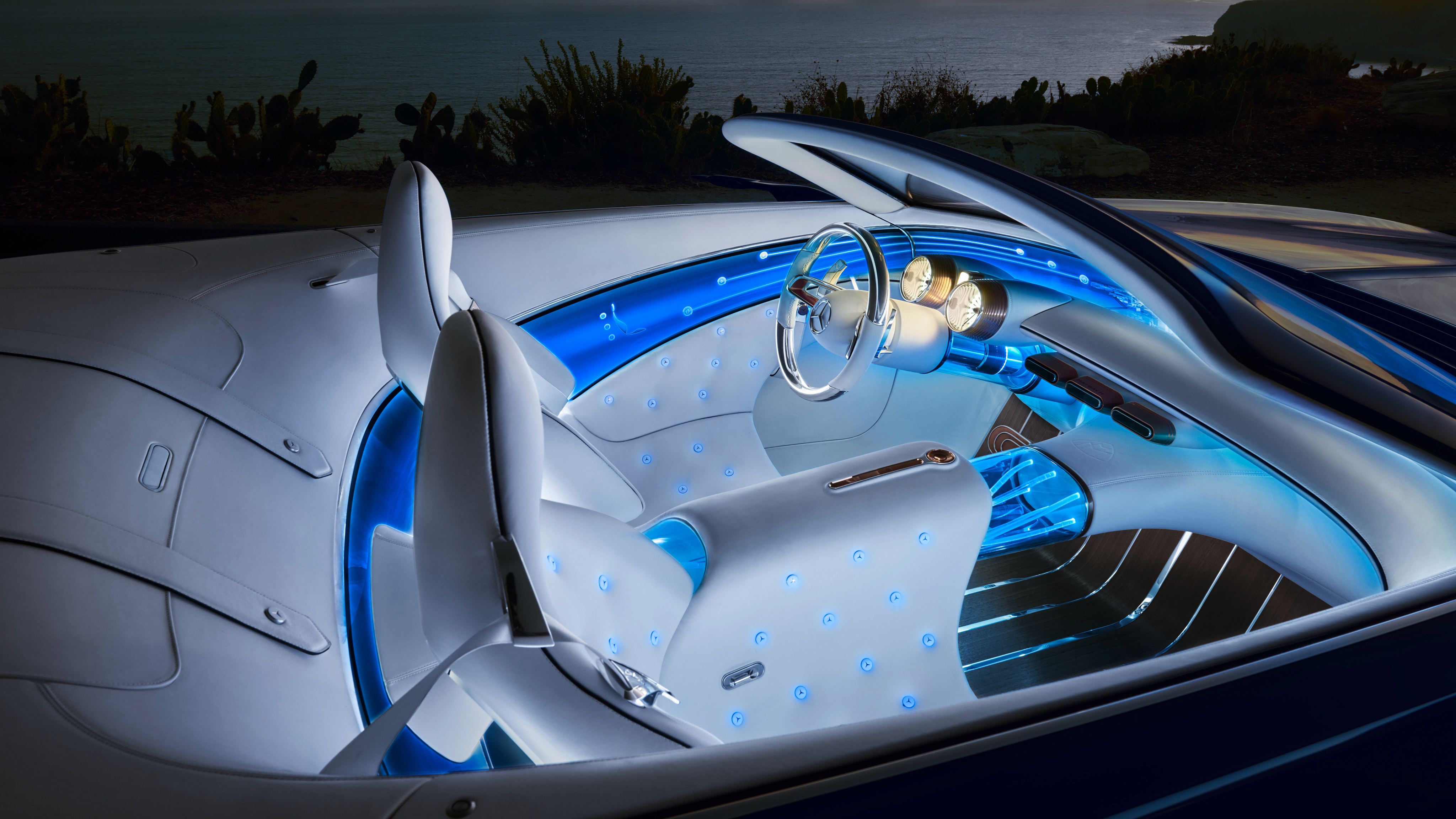 2018 Vision Mercedes Maybach 6 Cabriolet Interior