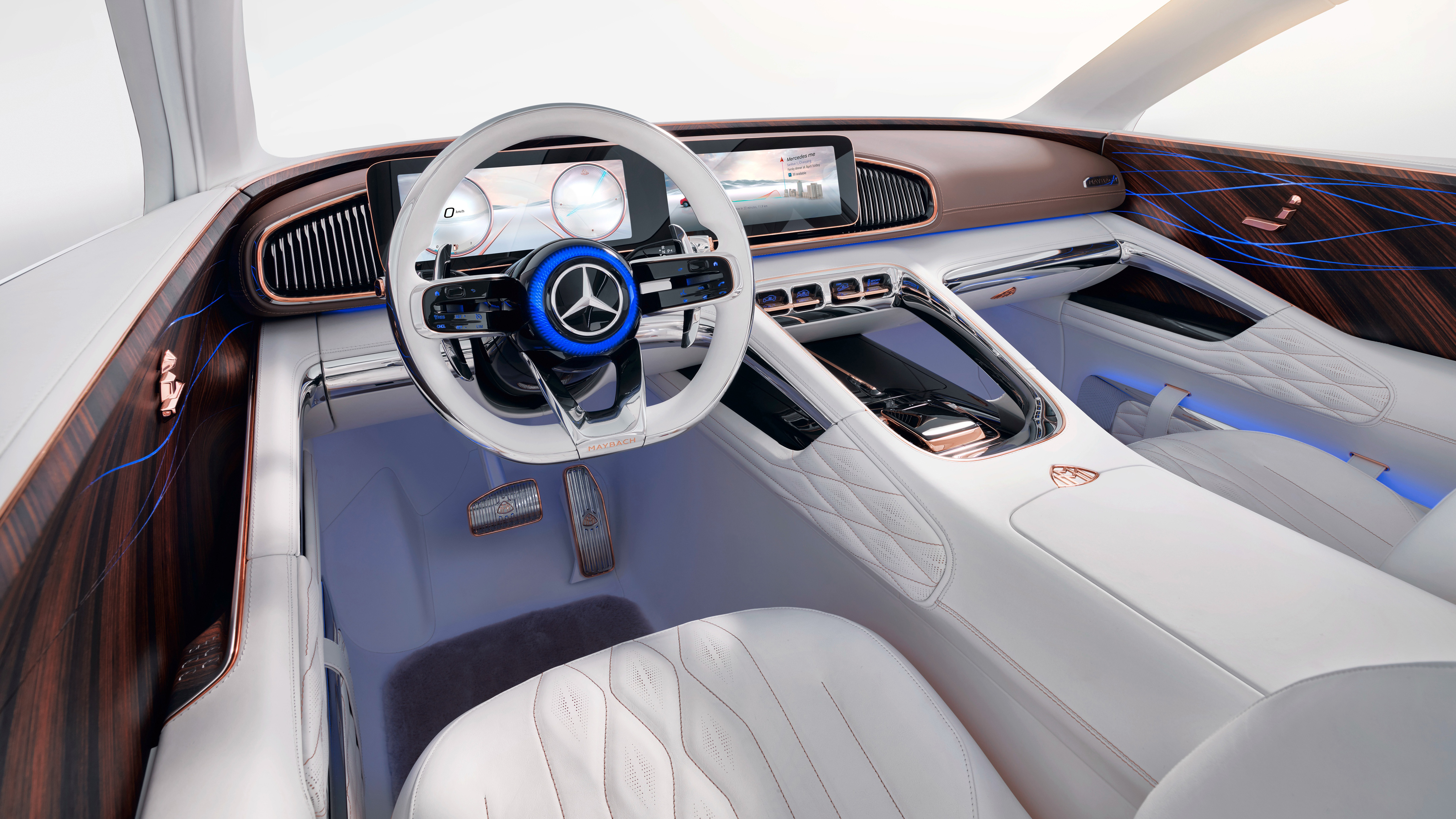 2018 vision mercedes maybach ultimate luxury interior 4k wallpaper hd car wallpapers id 10222. Black Bedroom Furniture Sets. Home Design Ideas