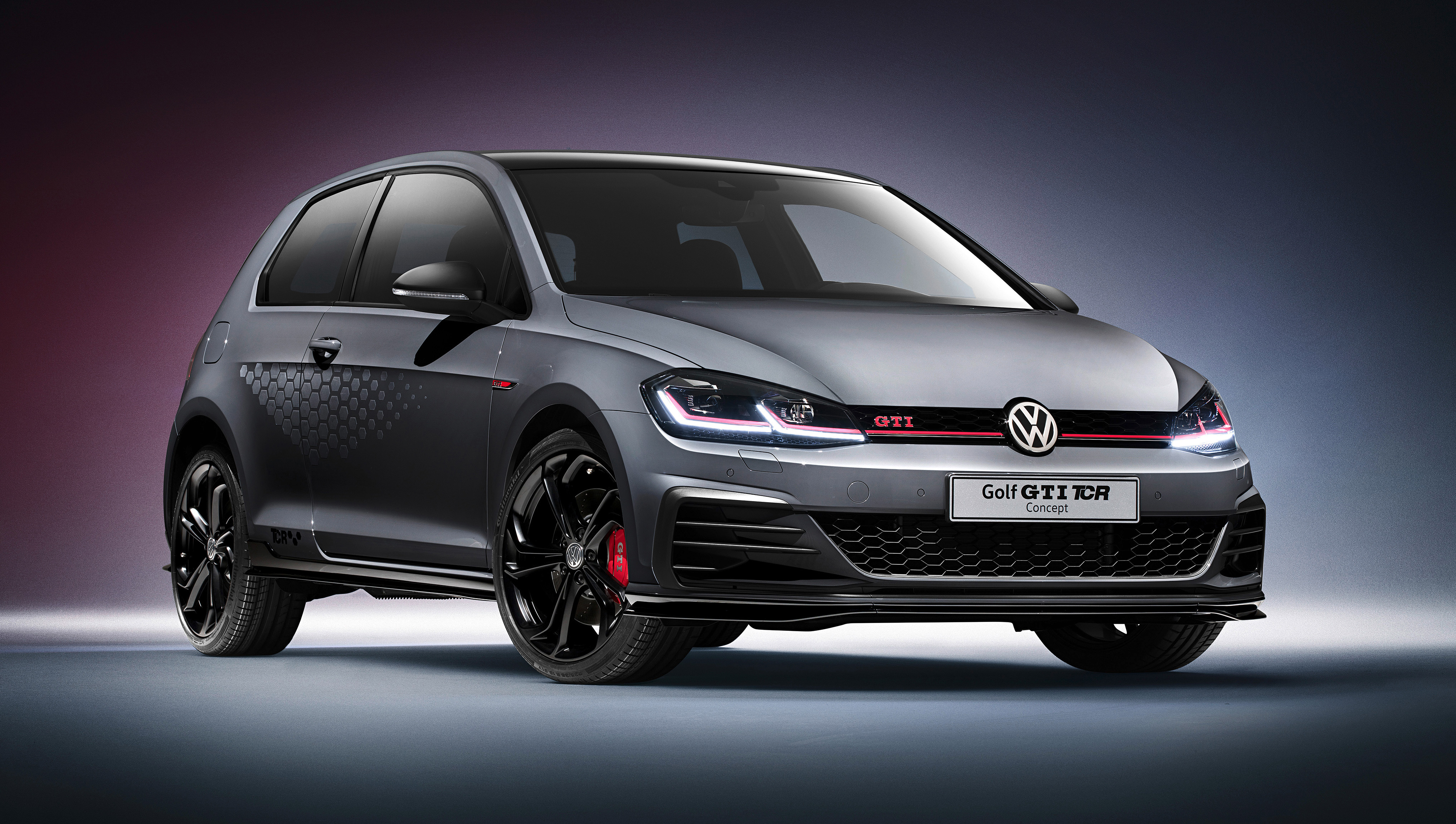 2018 Volkswagen Golf Gti Tcr Concept 4k 2 Wallpaper Hd Car Wallpapers Id 10346