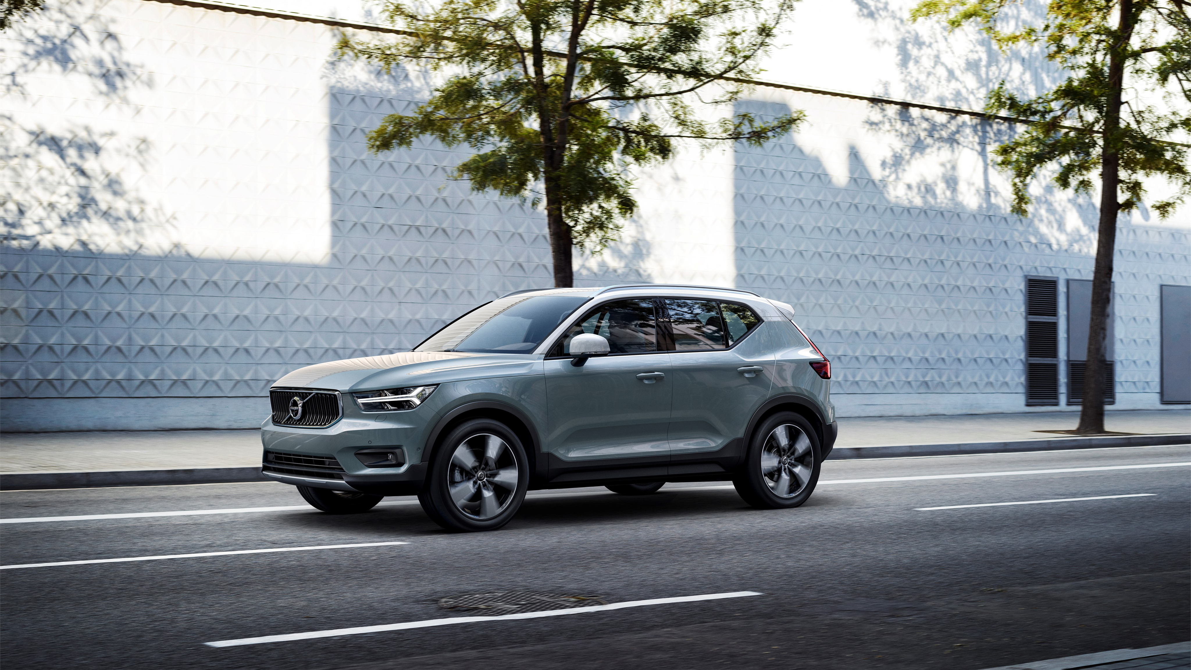 2018 volvo xc40 t5 4k 2 wallpaper hd car wallpapers id 8680. Black Bedroom Furniture Sets. Home Design Ideas