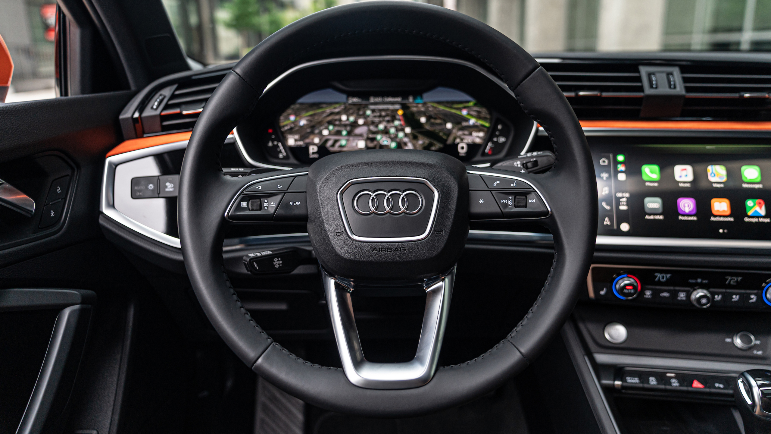 2019 Audi Q3 2 0 Tfsi Quattro S Line Interior Wallpaper Hd