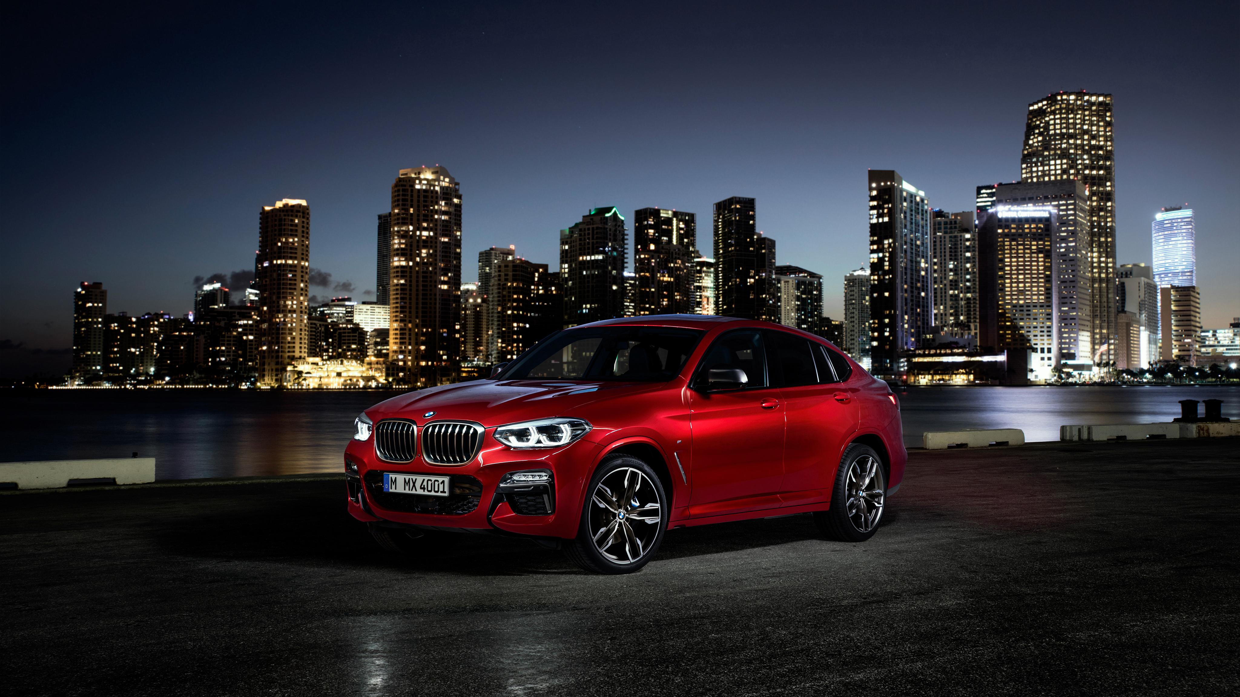2019 BMW X4 M40d 4K 2 Wallpaper