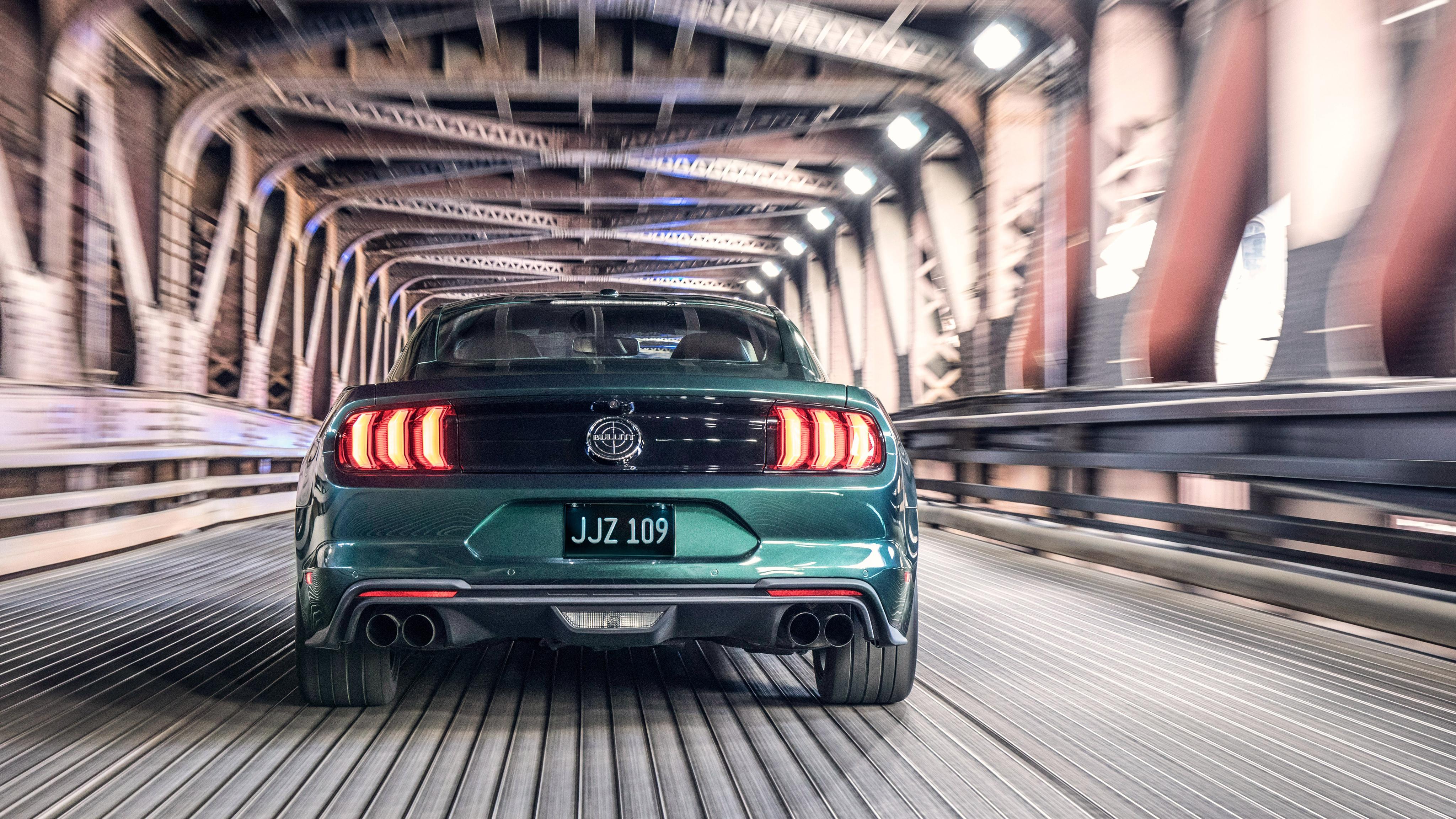 2019 Ford Mustang Bullitt 4k 2 Wallpaper Hd Car