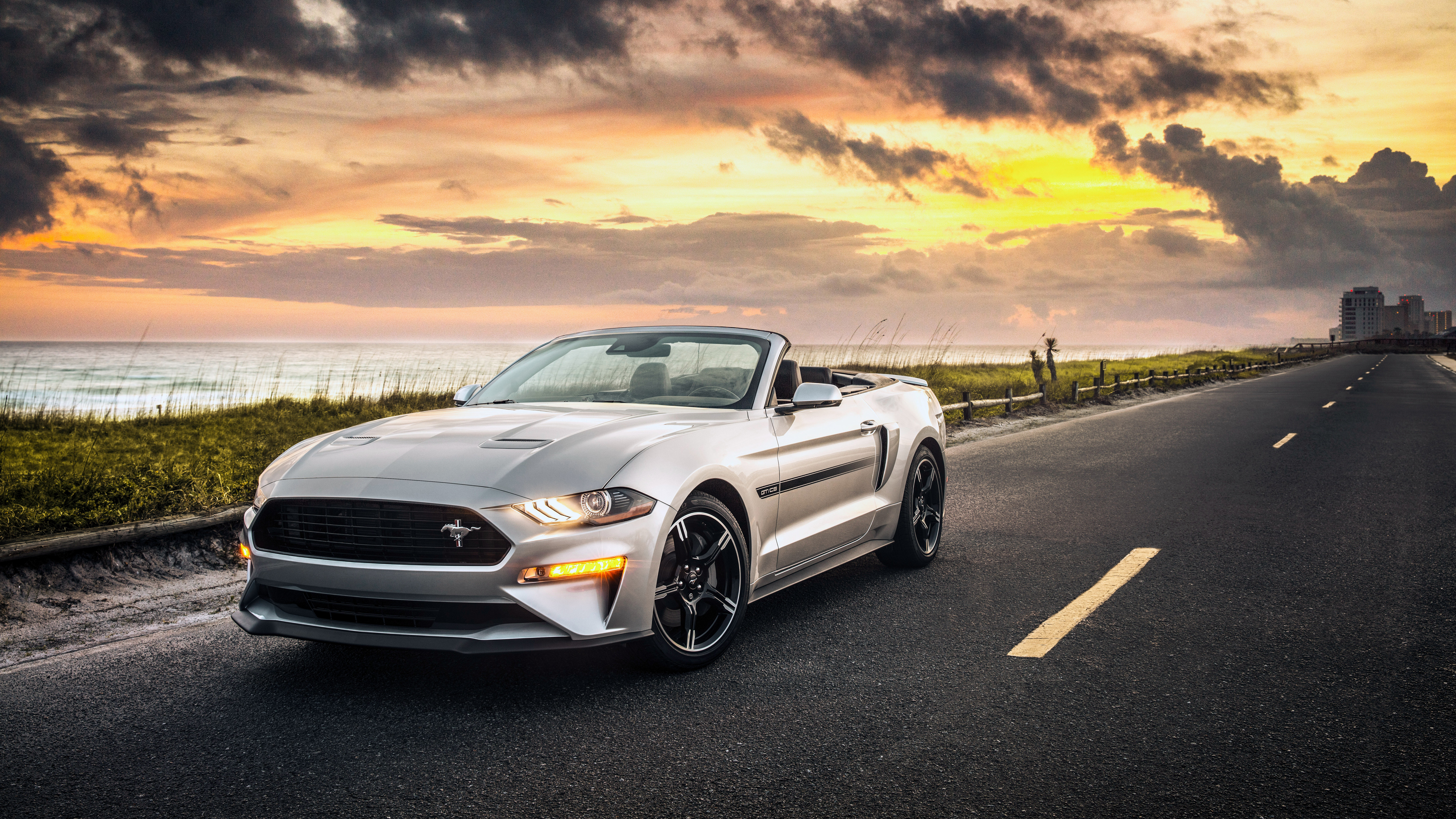 Ford F 150 Shelby >> 2019 Ford Mustang GT Convertible California 4K Wallpaper | HD Car Wallpapers| ID #9987