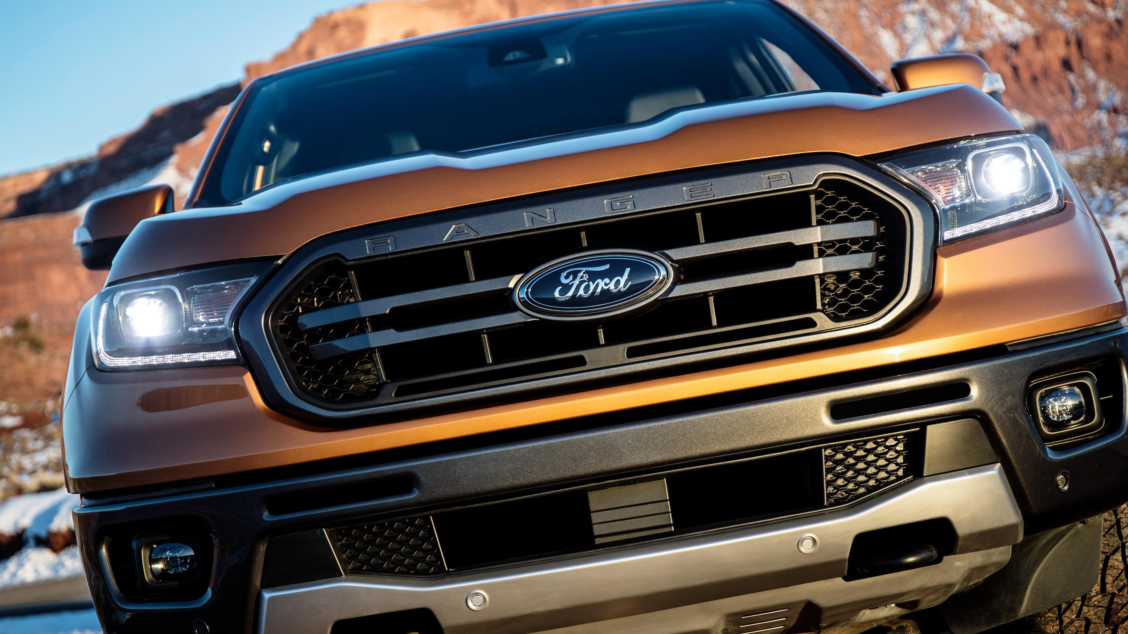 2019 Ford Ranger FX4 Lariat SuperCrew 4K Wallpaper | HD ...