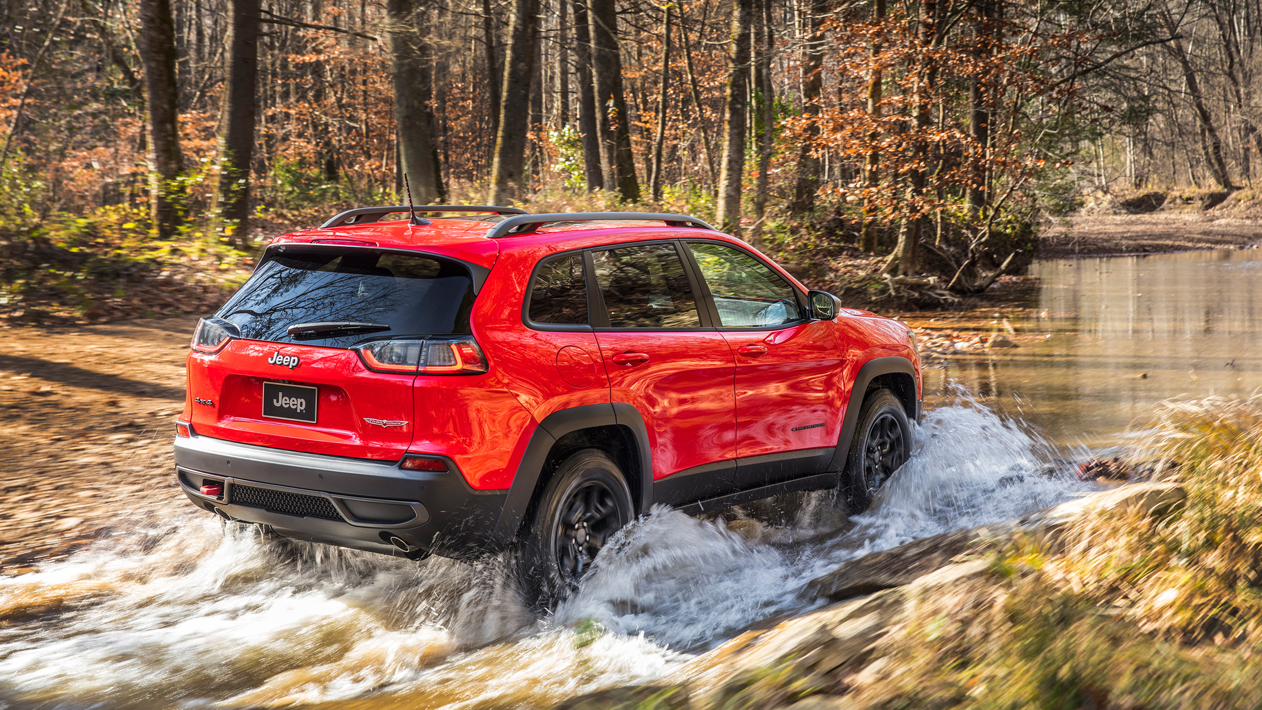 2019 Jeep Cherokee Trailhawk 4 Wallpaper