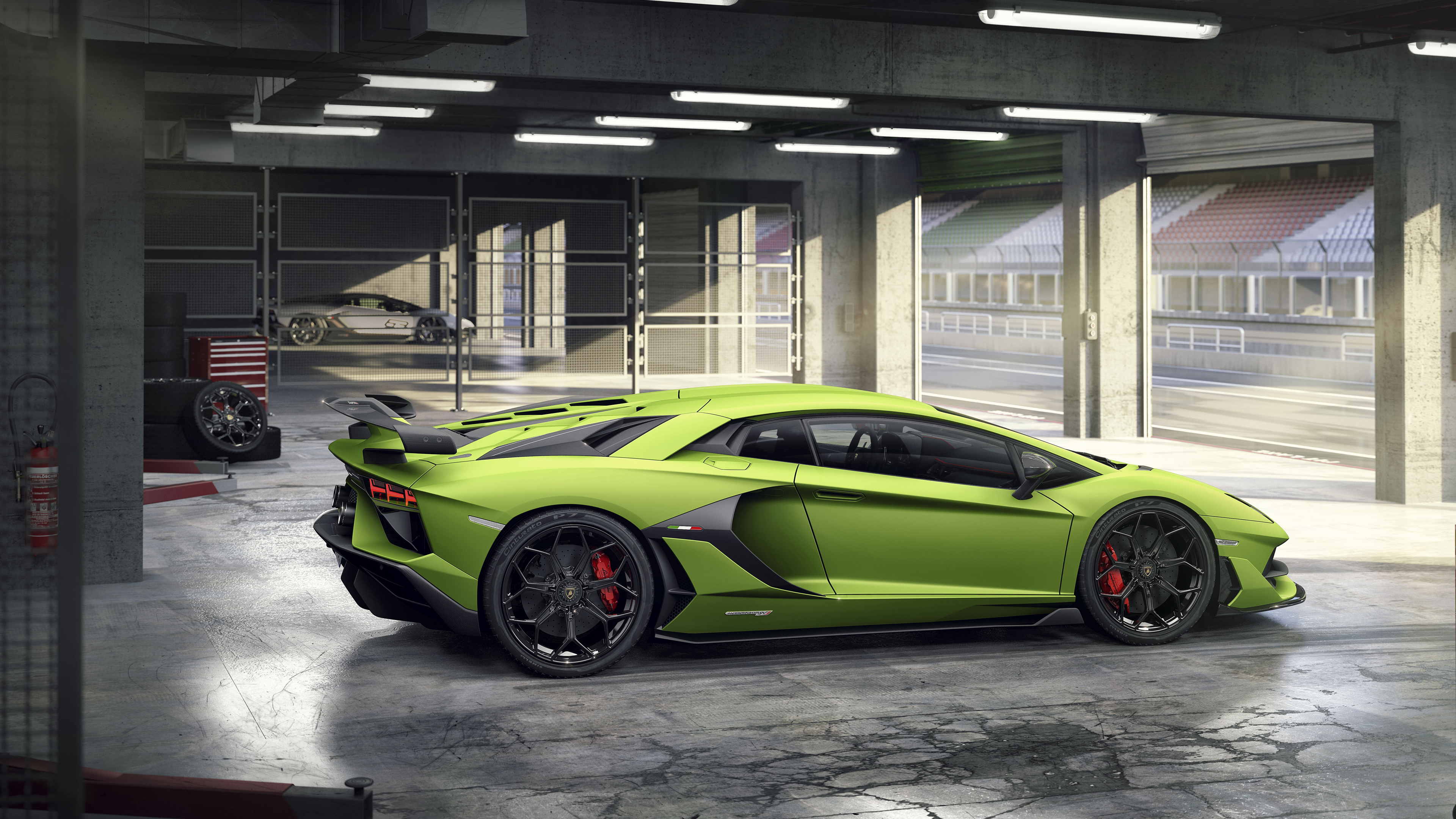 2019 Lamborghini Aventador Svj 4k 4 Wallpaper Hd Car Wallpapers