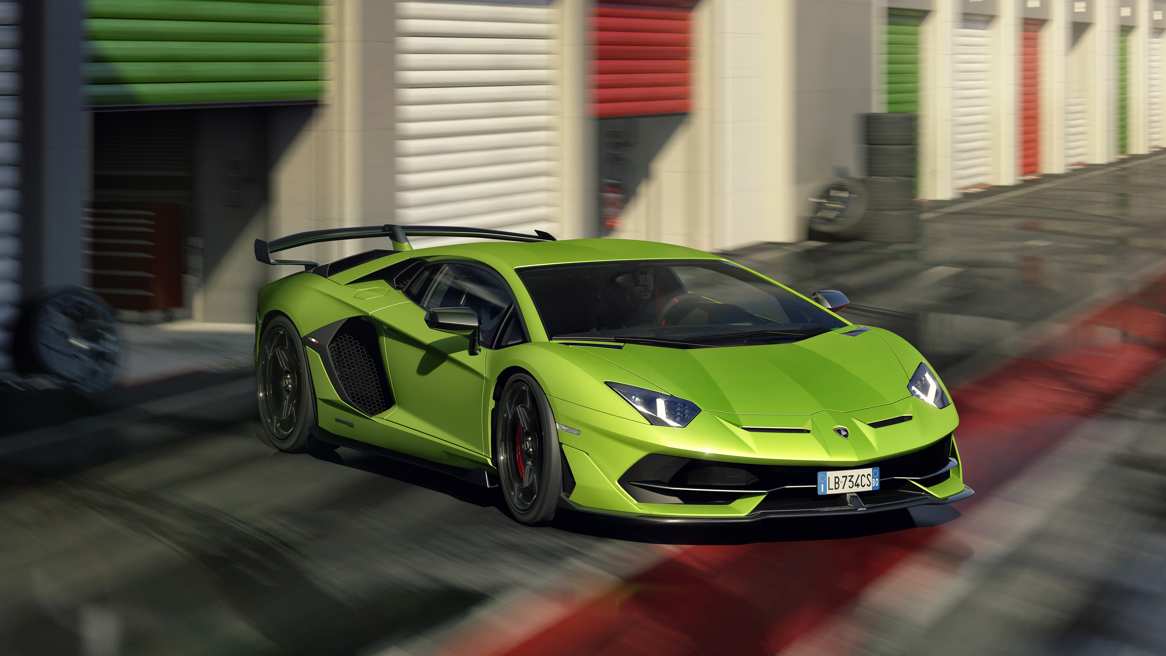 2019 Lamborghini Aventador Svj 4k 5 Wallpaper Hd Car Wallpapers