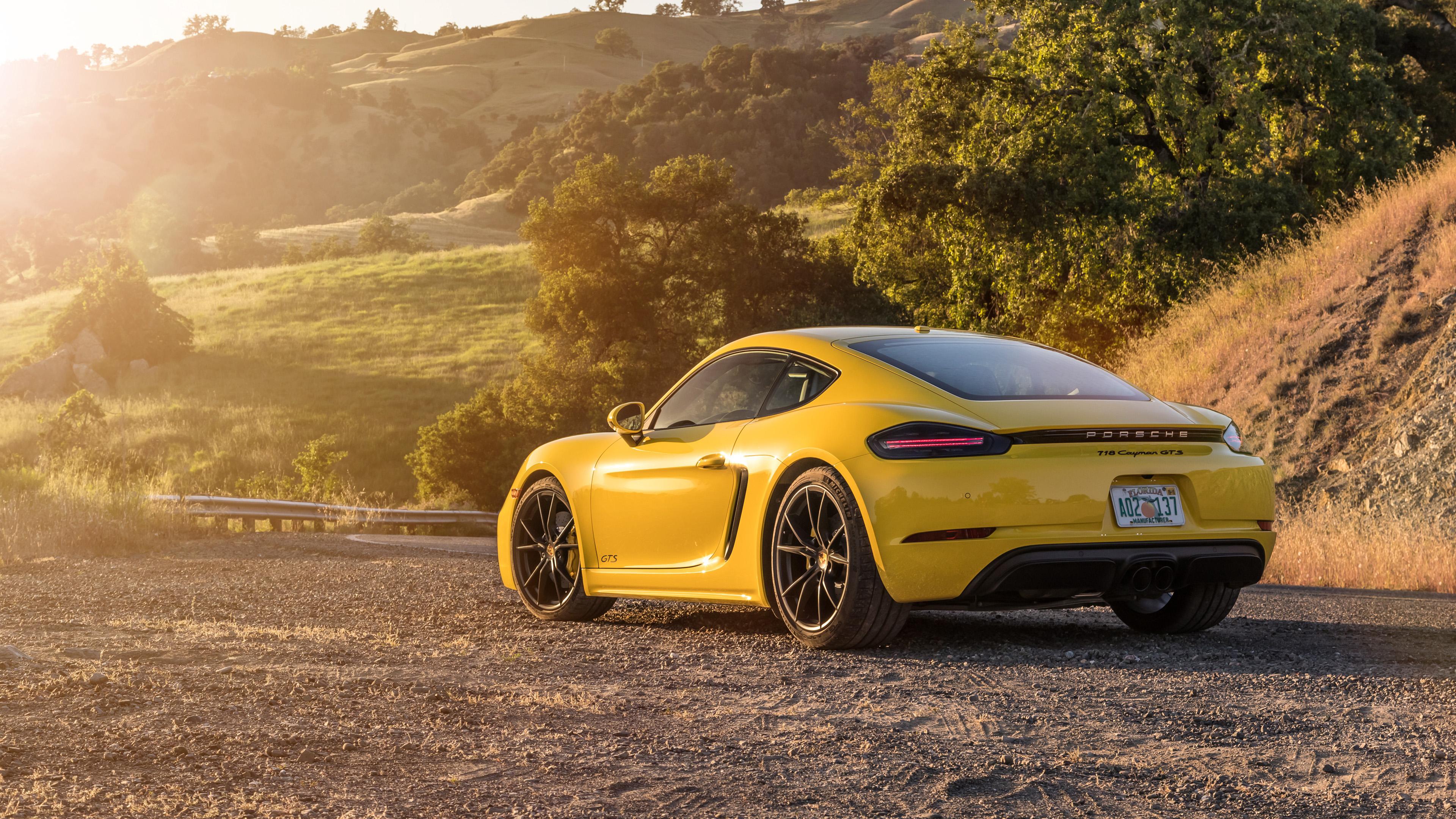 2019 Porsche 718 Cayman GTS 4K 2 Wallpaper   HD Car ...