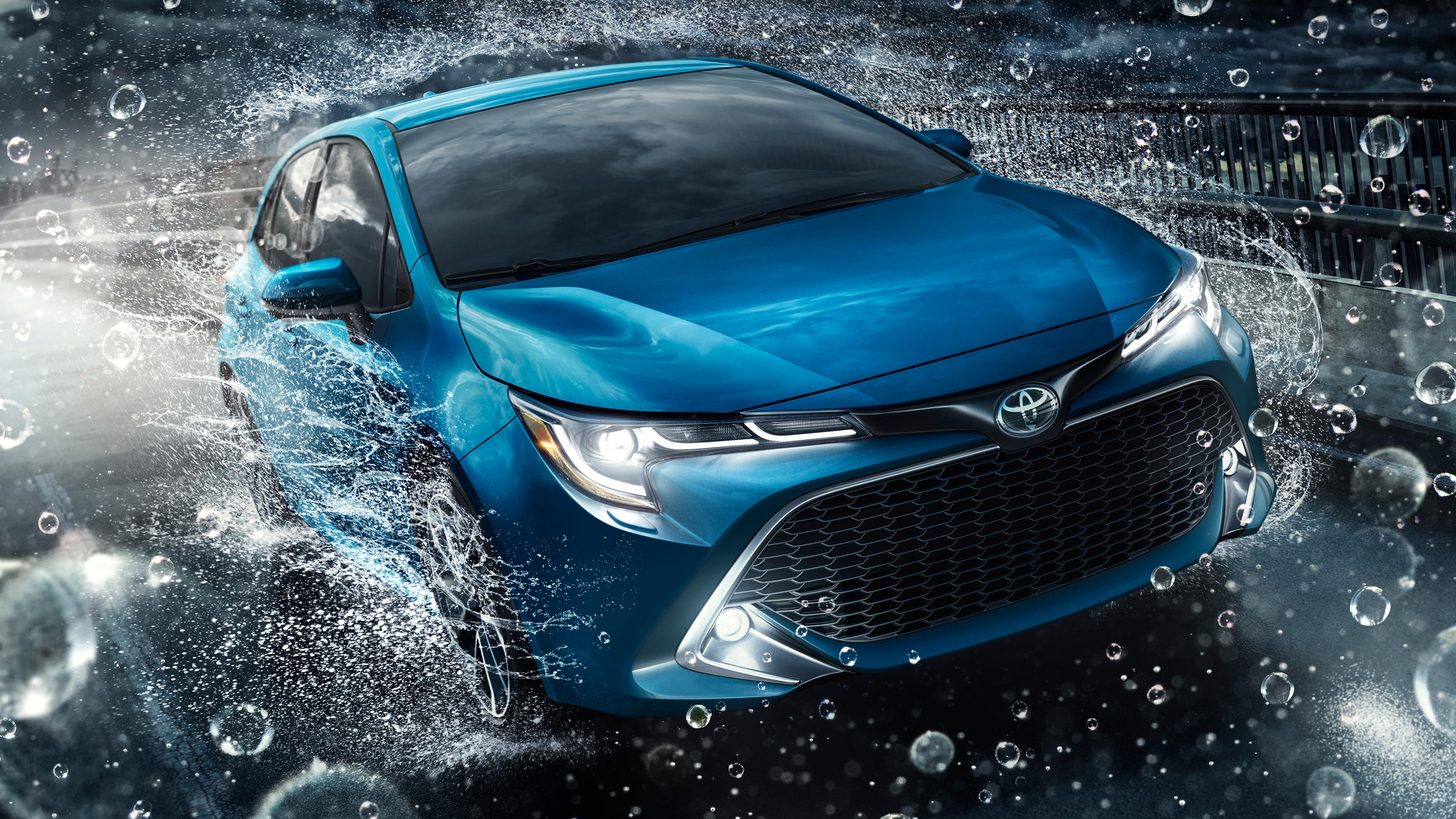 2019 Toyota Corolla Xse Hatchback 4k 2 Wallpaper Hd Car Wallpapers