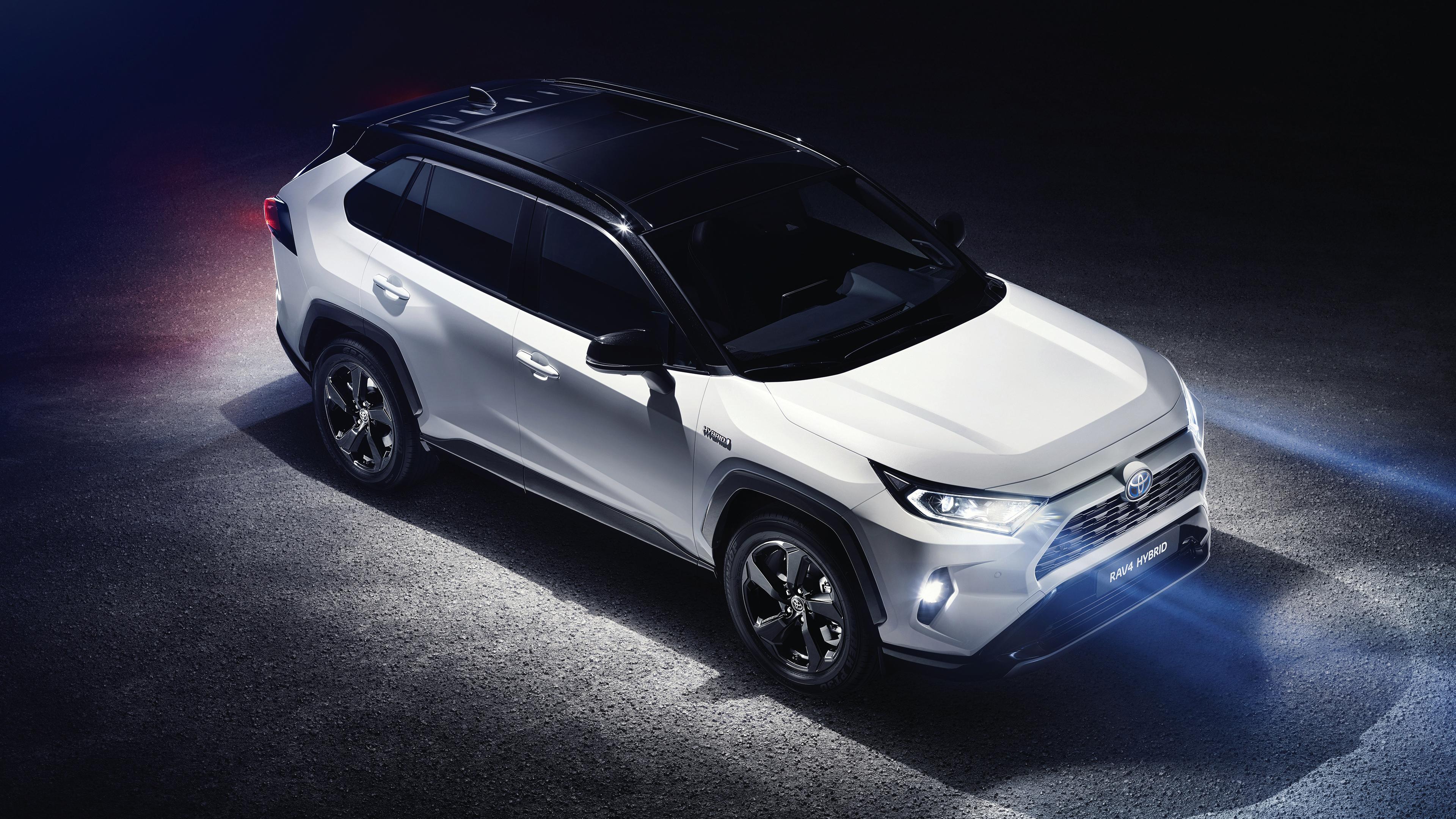 2019 Toyota RAV4 Hybrid 4K Wallpaper