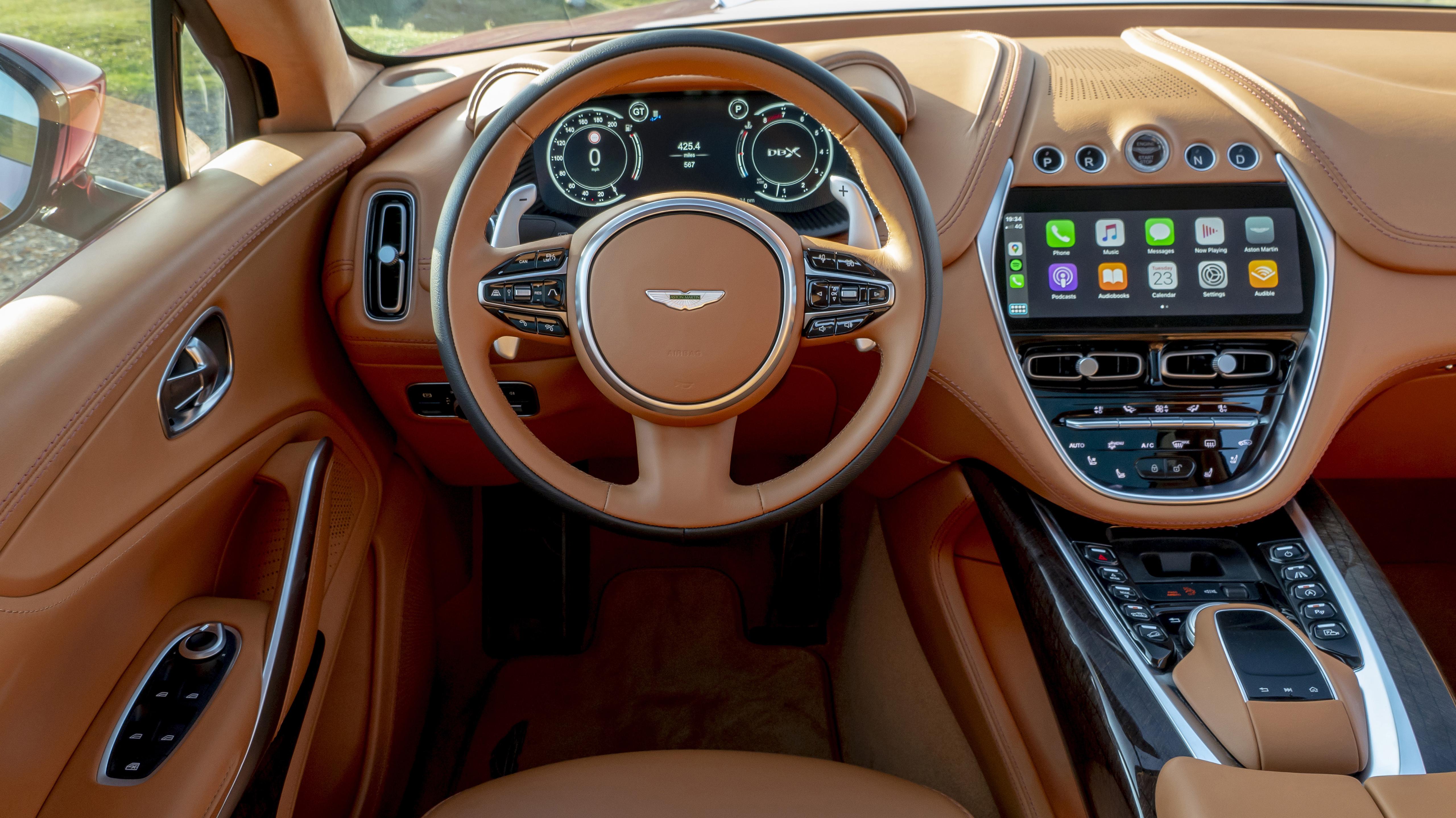2020 Aston Martin Dbx 5k Interior Wallpaper Hd Car Wallpapers Id 15807