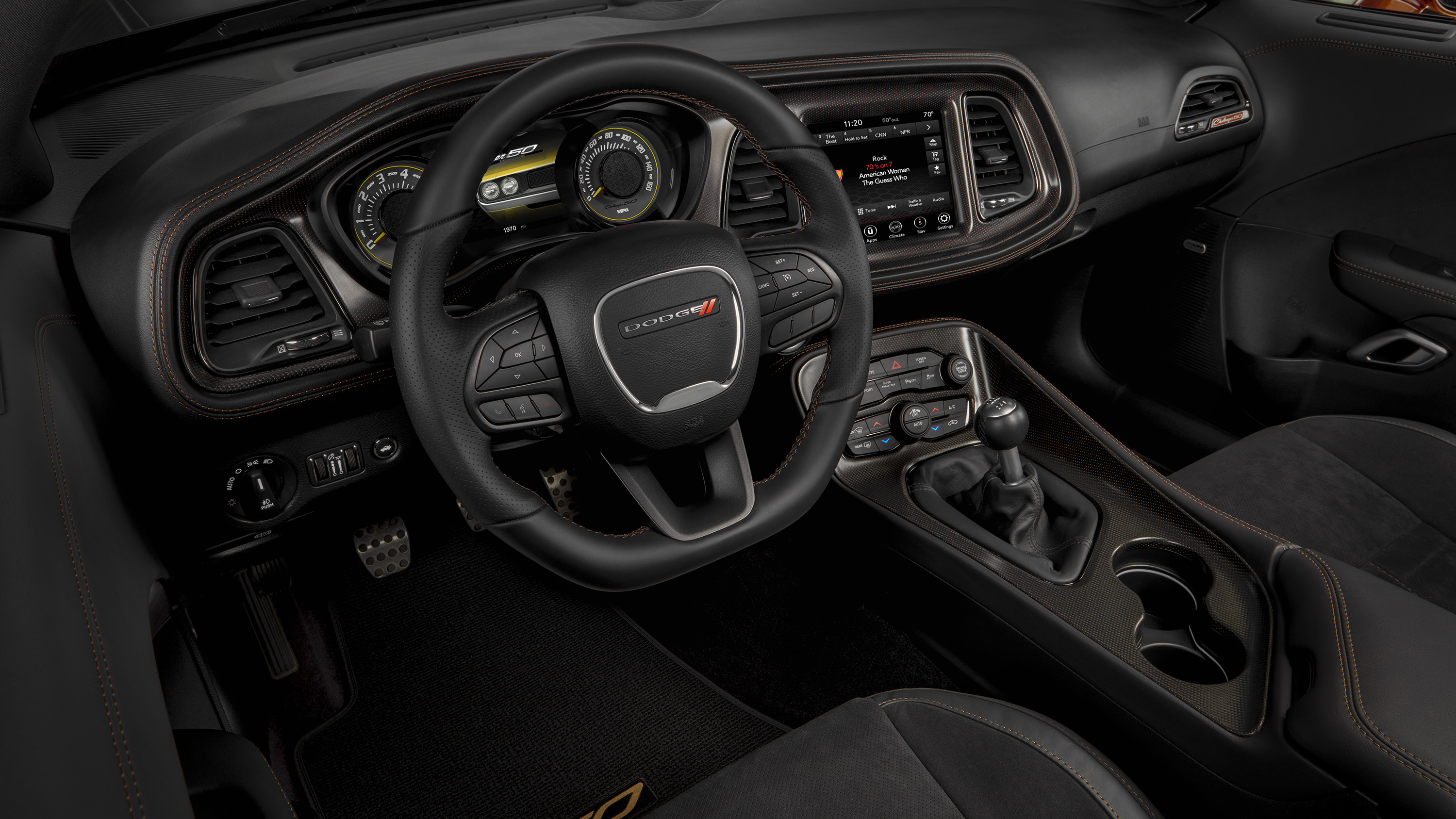 2020 Dodge Challenger Rt Shaker 50th Anniversary Edition Interior Wallpaper Hd Car Wallpapers Id 13793