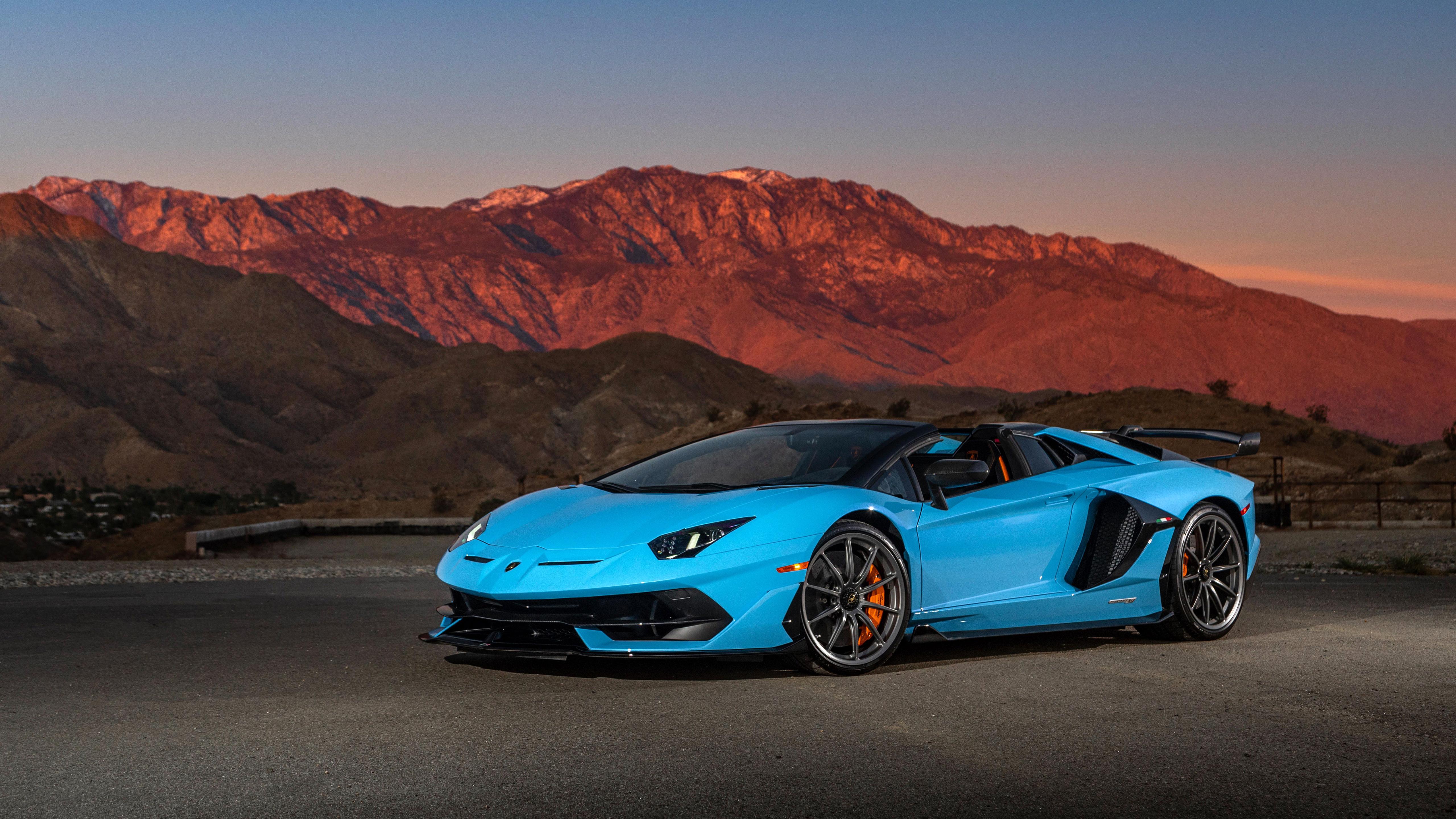 2020 Lamborghini Aventador Svj Roadster 4k 5k 5 Wallpaper Hd Car Wallpapers Id 14052