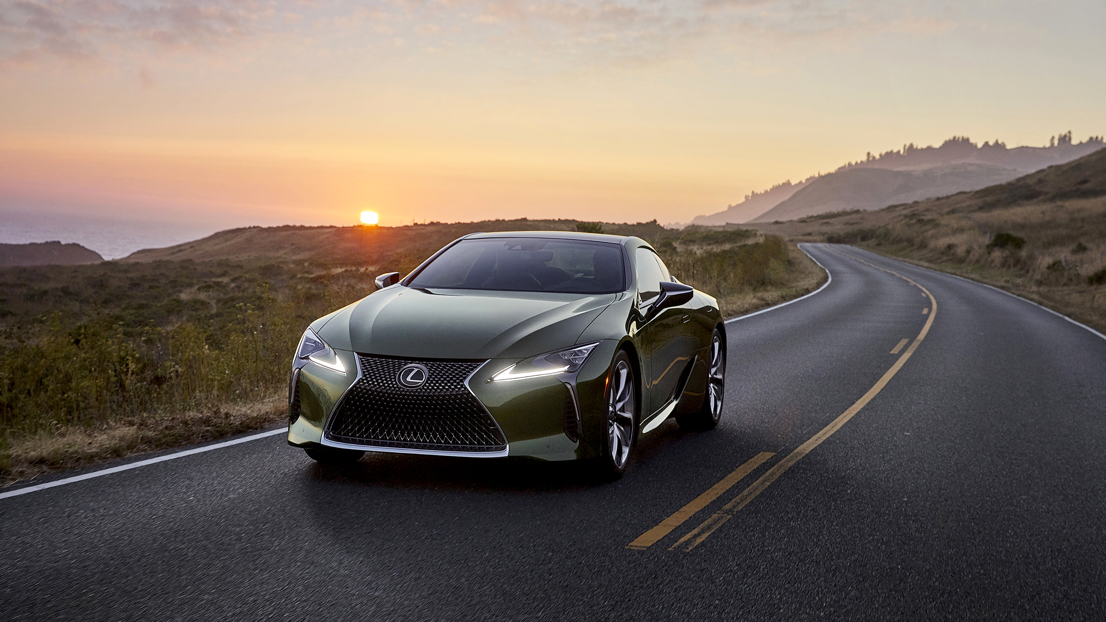 2020 Lexus LC 500 Inspiration Series 4K Wallpaper