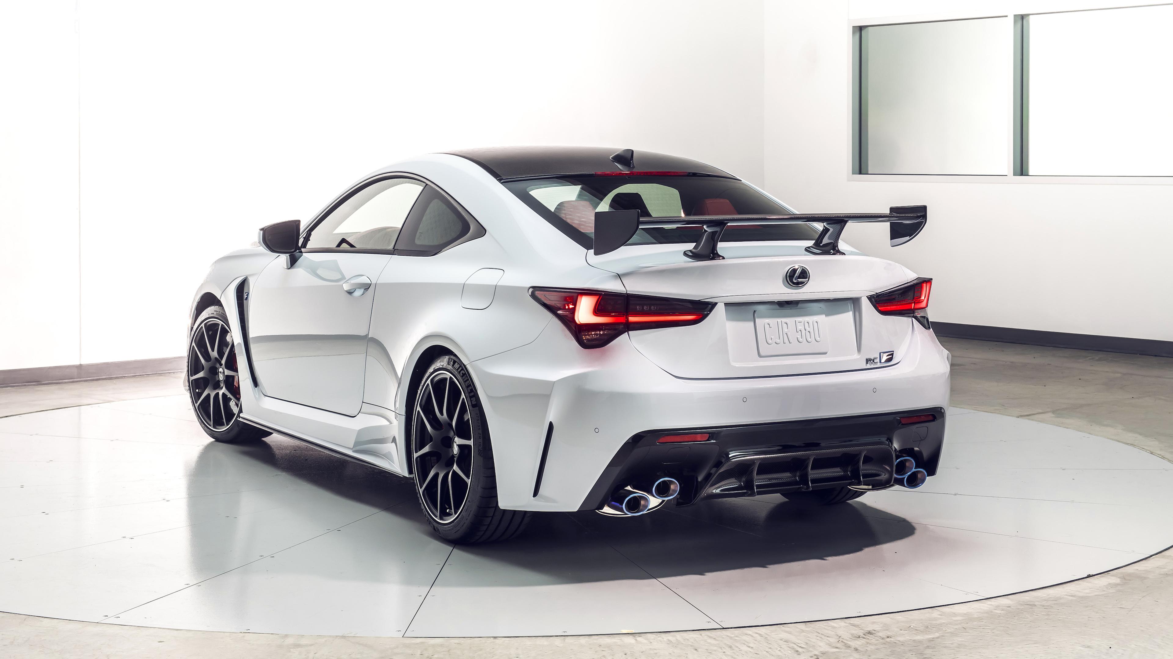 2020 Lexus Rc F Track Edition 4k 3 Wallpaper Hd Car Wallpapers Id 11906