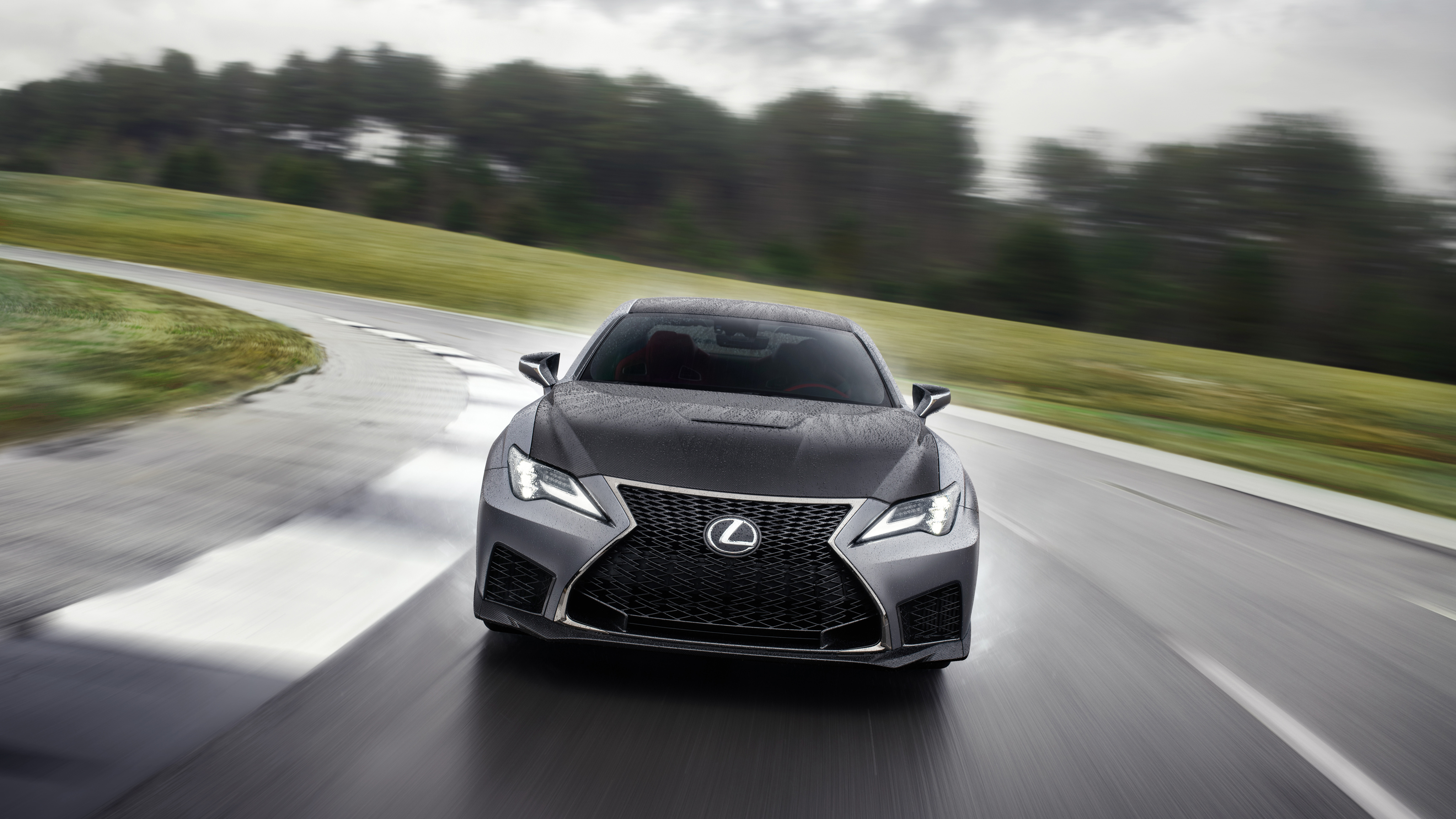 2020 Lexus RC F Track Edition 4K 4 Wallpaper | HD Car Wallpapers | ID #11899