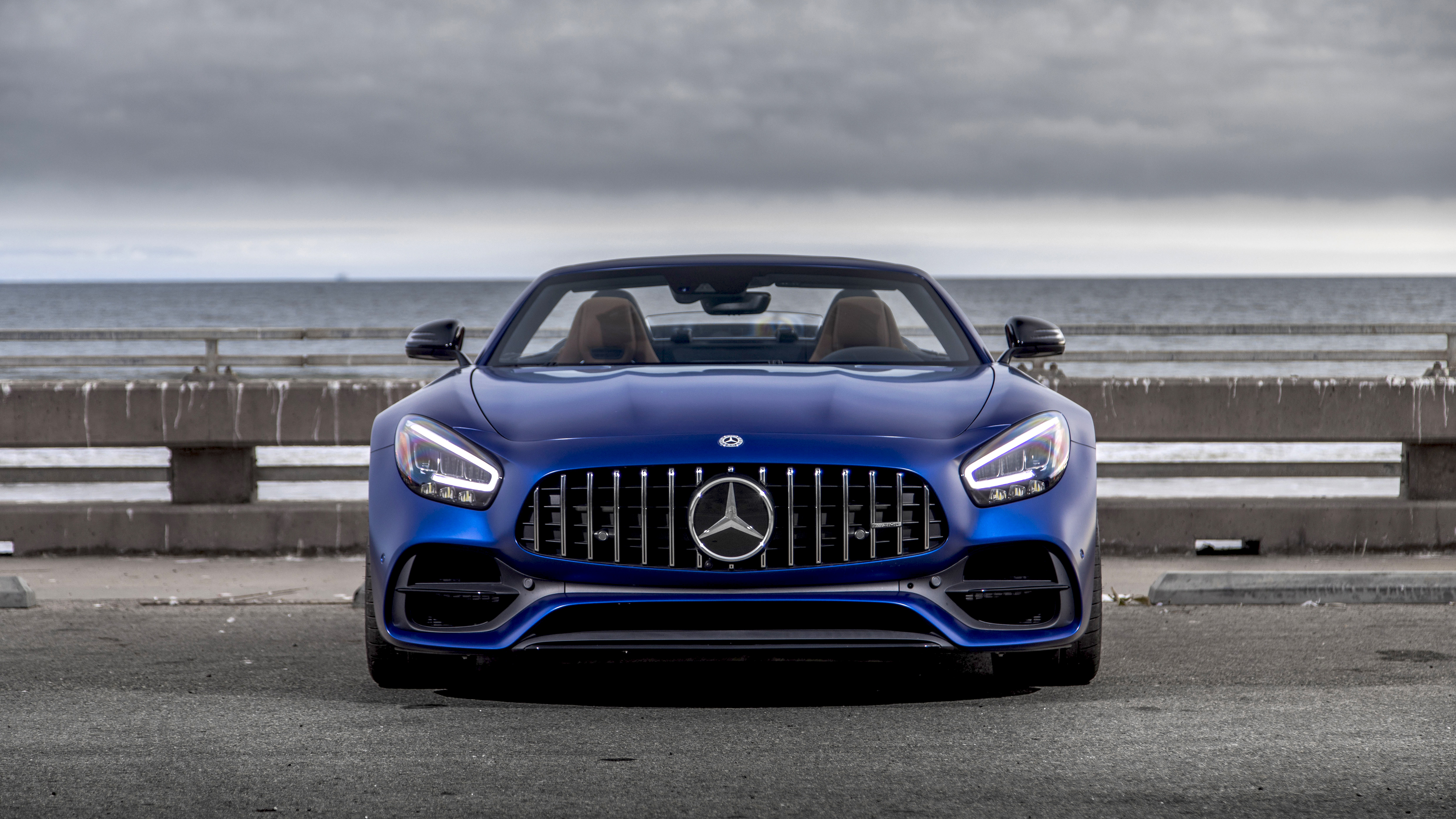 2020 Mercedes Amg Gt C Roadster 4k Wallpaper Hd Car Wallpapers Id 12821