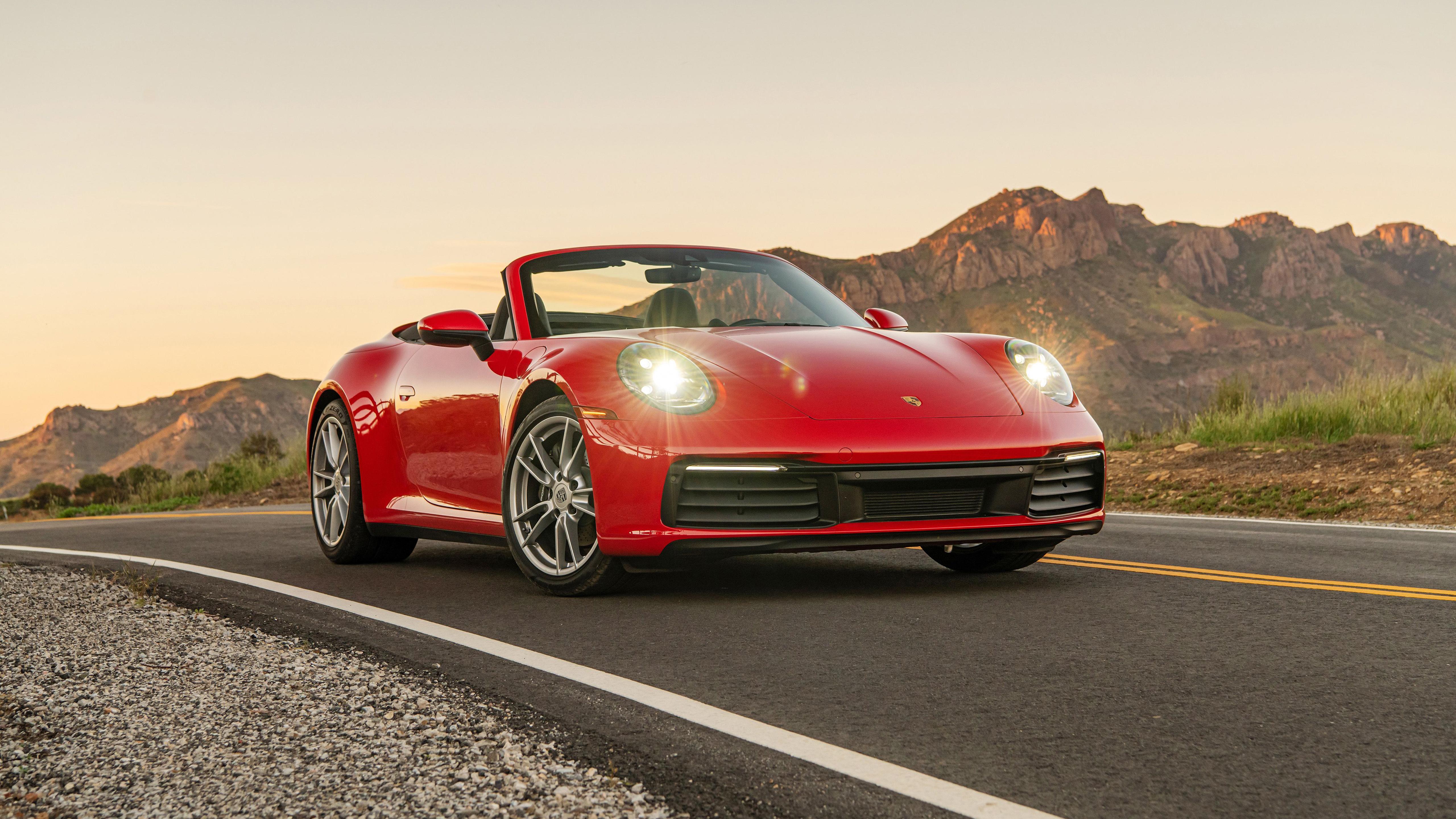 2020 Porsche 911 Carrera Cabriolet 5K Wallpaper   HD Car ...