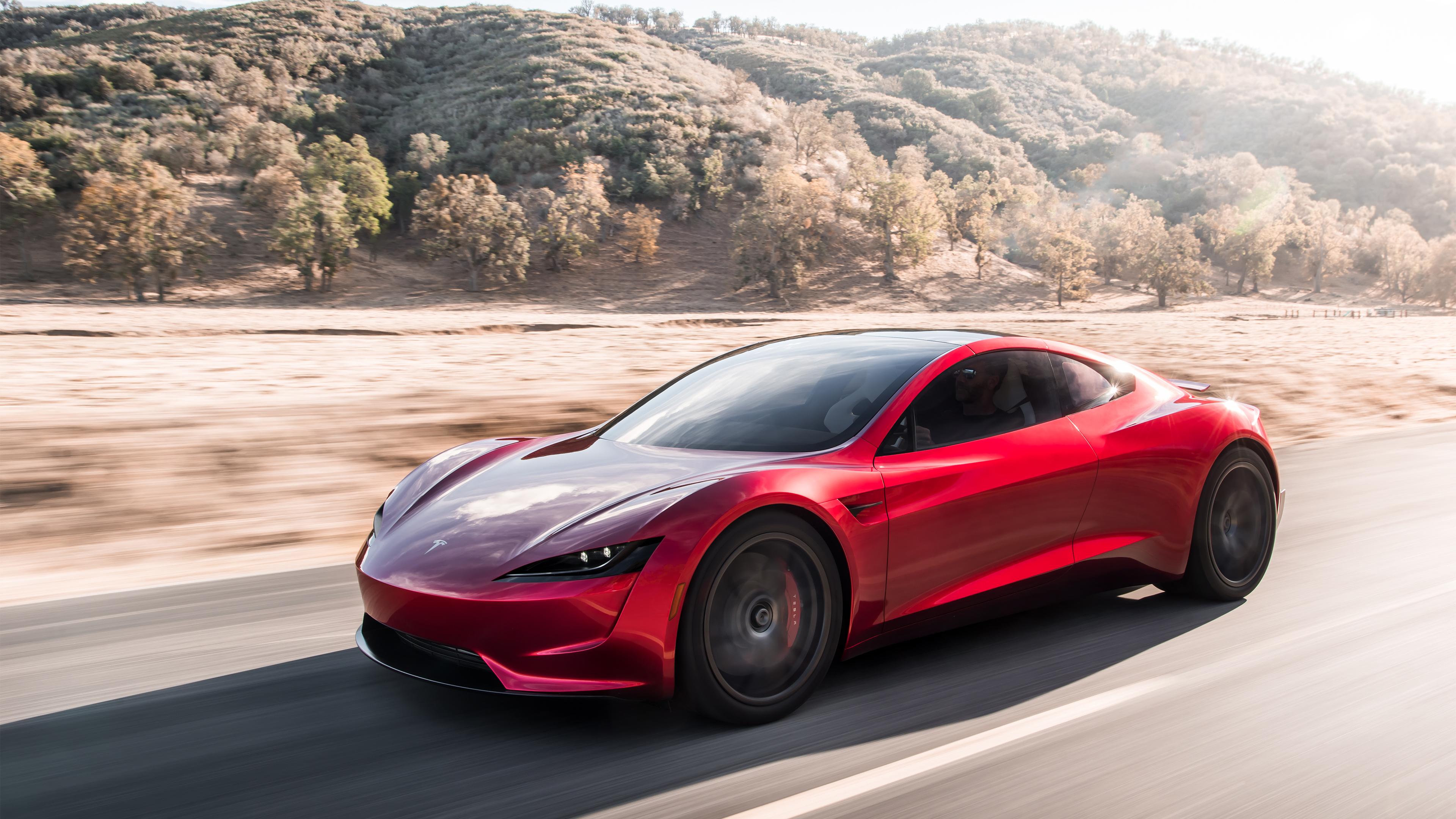 2020 Tesla Roadster 4k 5 Wallpaper Hd Car Wallpapers Id 9106