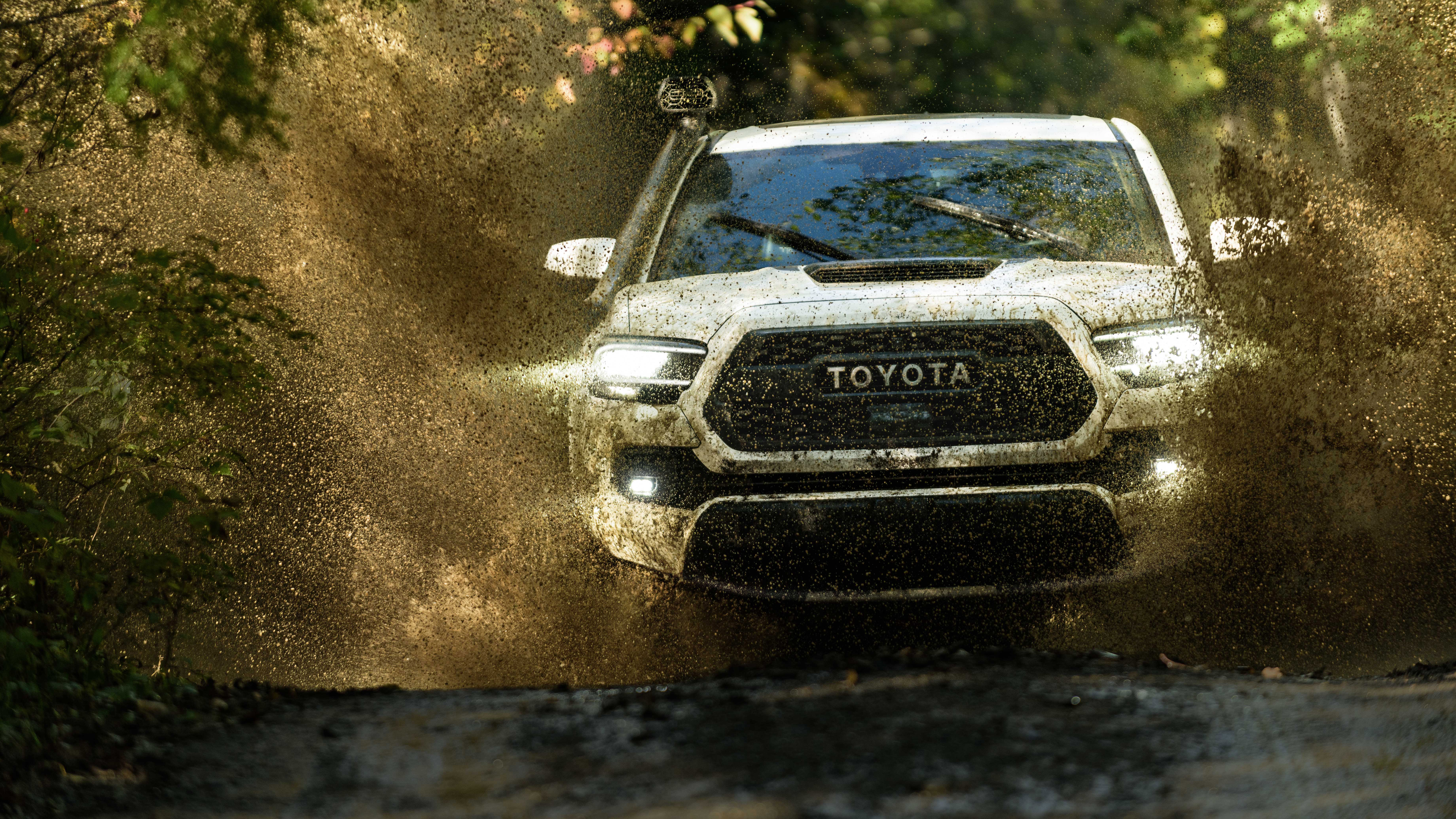 2020 Toyota Tacoma Trd Pro Double Cab 4k 8k Wallpaper Hd Car Wallpapers Id 11989