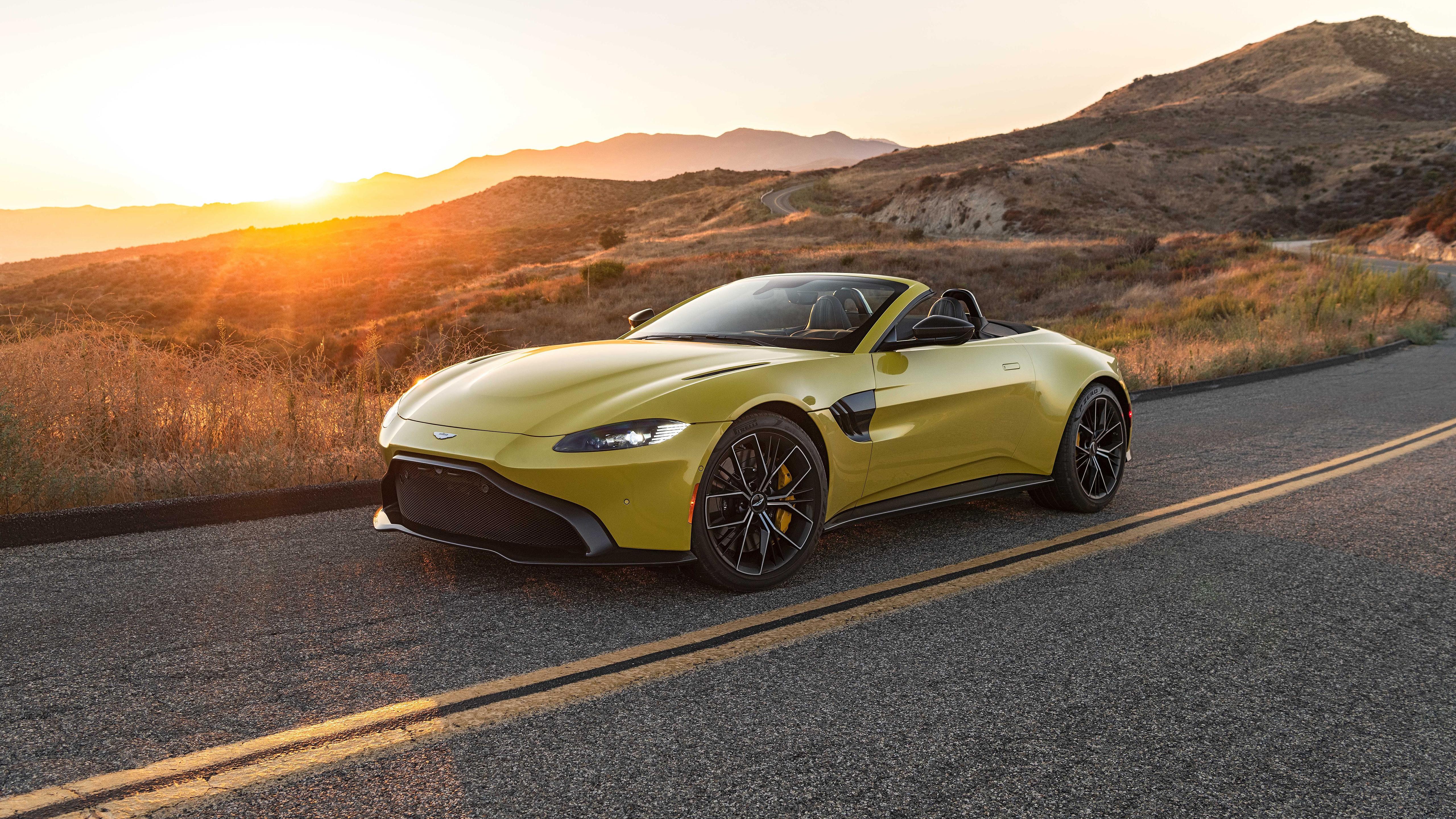 2021 Aston Martin Vantage Roadster Wallpaper Hd Car Wallpapers Id 16078