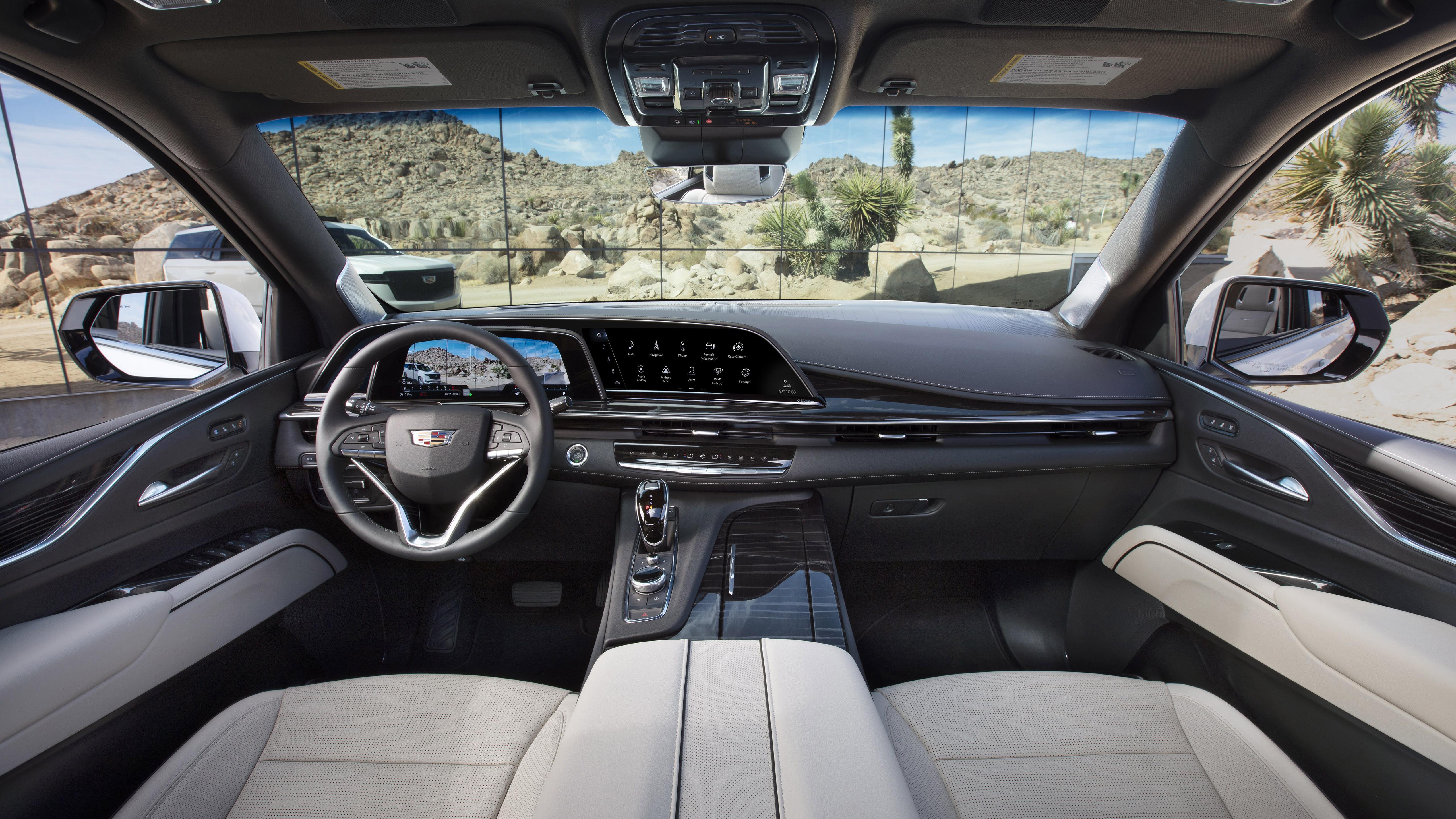 2021 Cadillac Escalade Platinum Sport Interior 5K ...