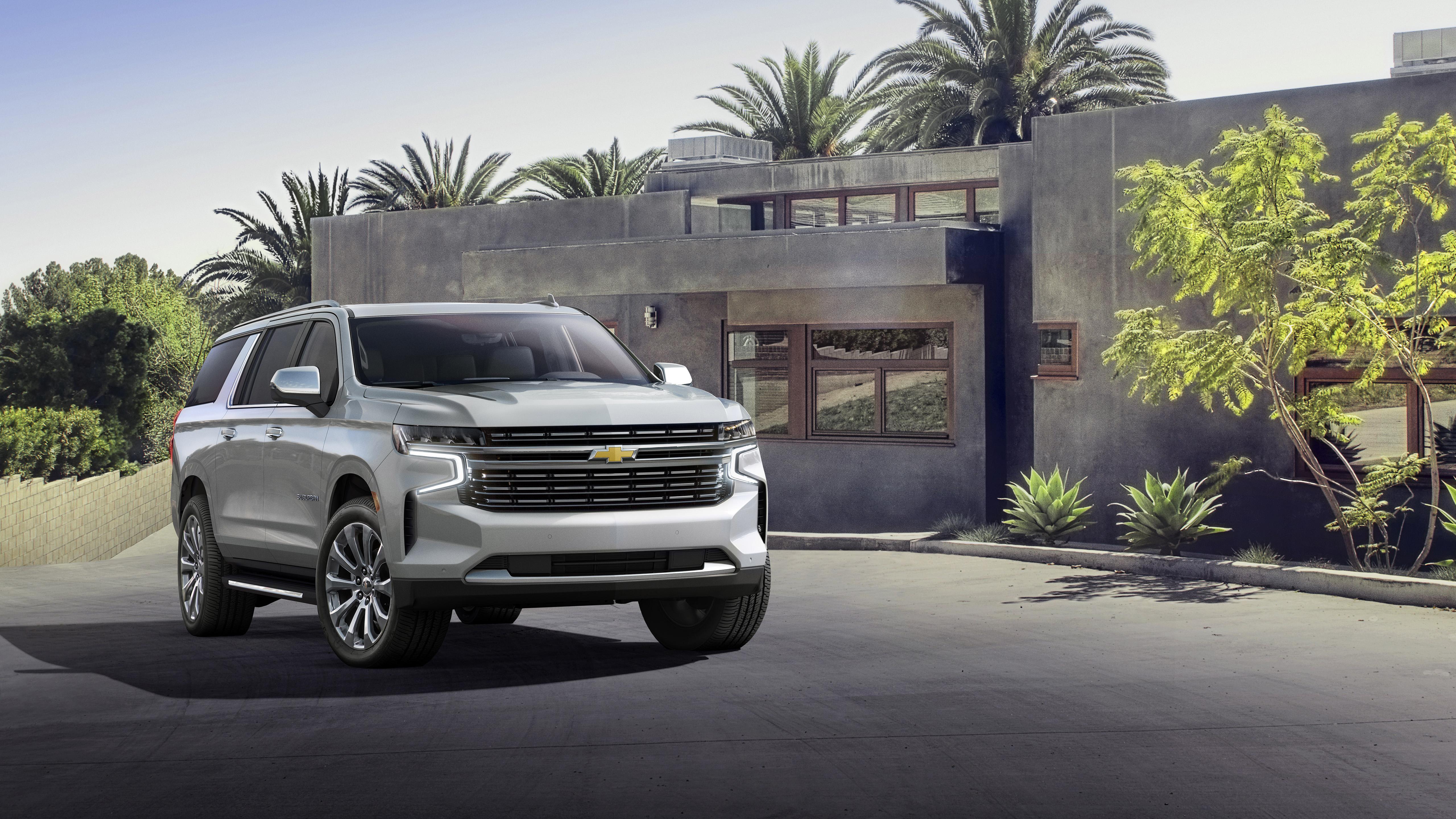 2021 Chevrolet Suburban 4K Wallpaper | HD Car Wallpapers ...