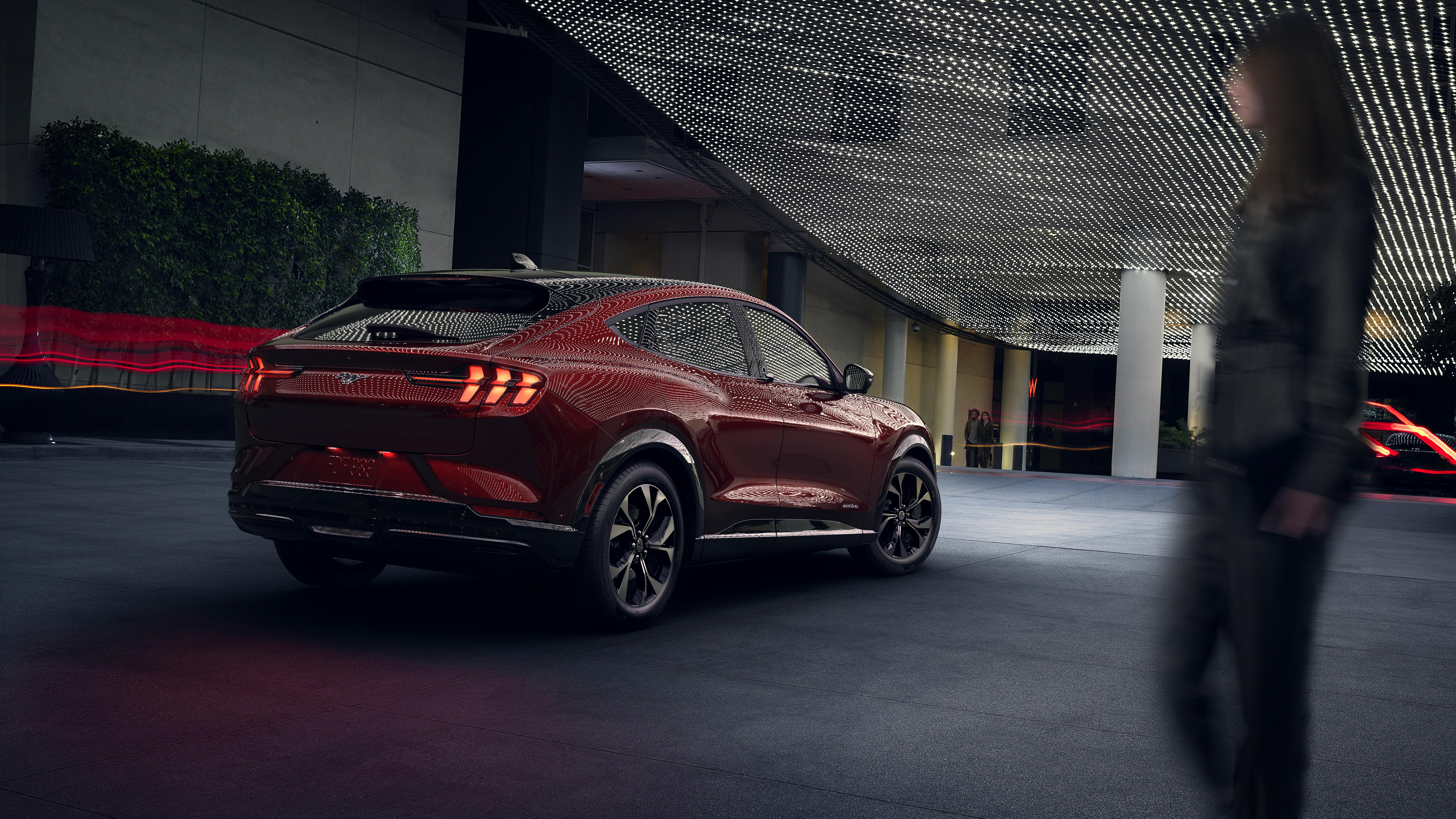 2021 Ford Mustang Mach E 5k 2 Wallpaper Hd Car Wallpapers Id 13756 2021 ford mustang mach e 5k wallpaper