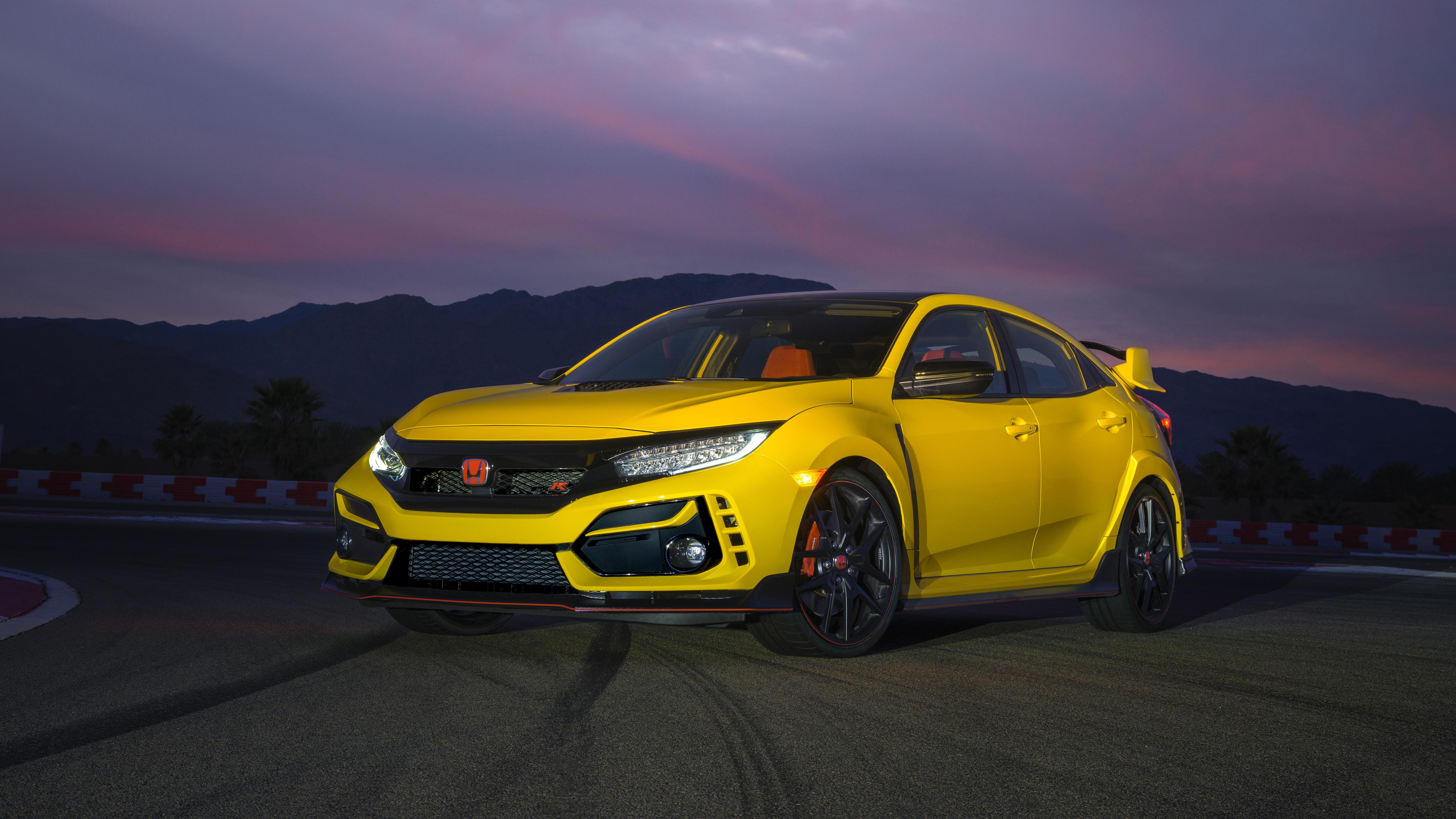 2021 Honda Civic Type R Limited Edition 5K Wallpaper