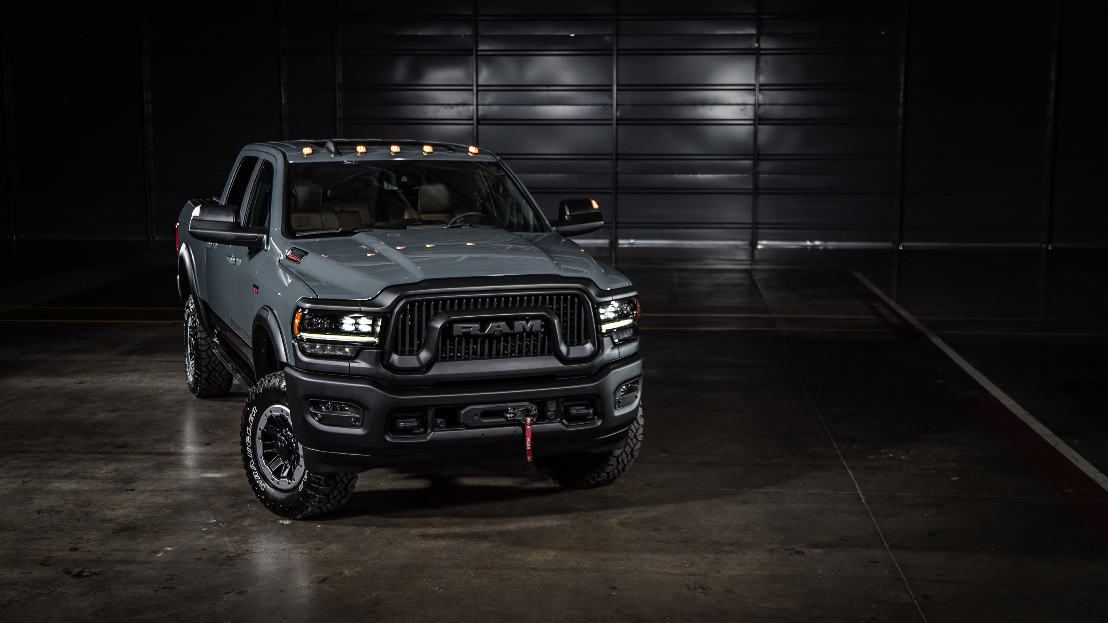 2021 Ram 2500 Power Wagon 75th Anniversary Edition Crew Cab 4k Wallpaper Hd Car Wallpapers Id 16451