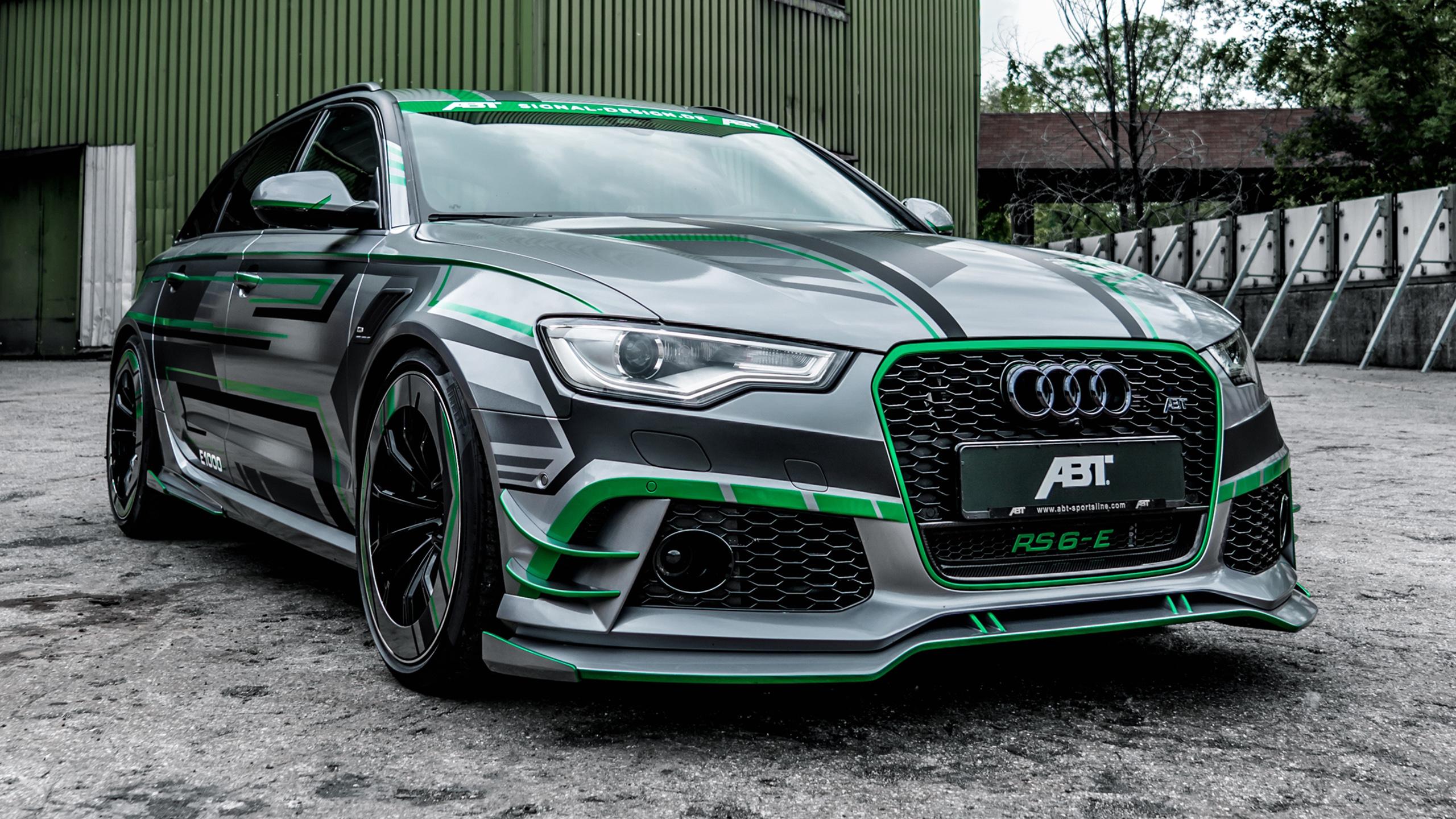 ABT Audi RS 6 E Avant Concept 2018 4K 2 Wallpaper HD Car