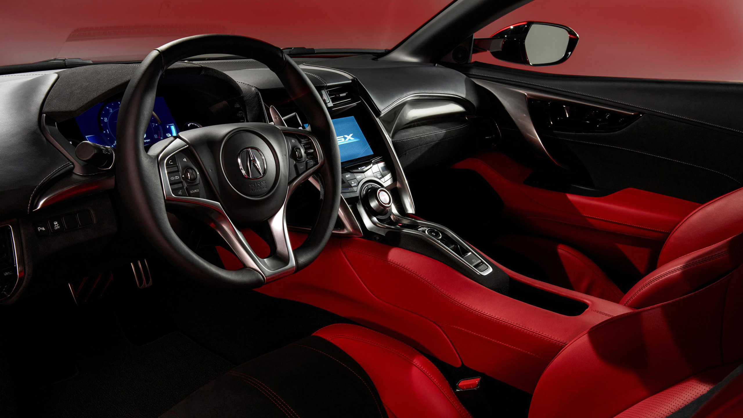 Acura Nsx 2017 Interior Wallpapers Supercars Gallery