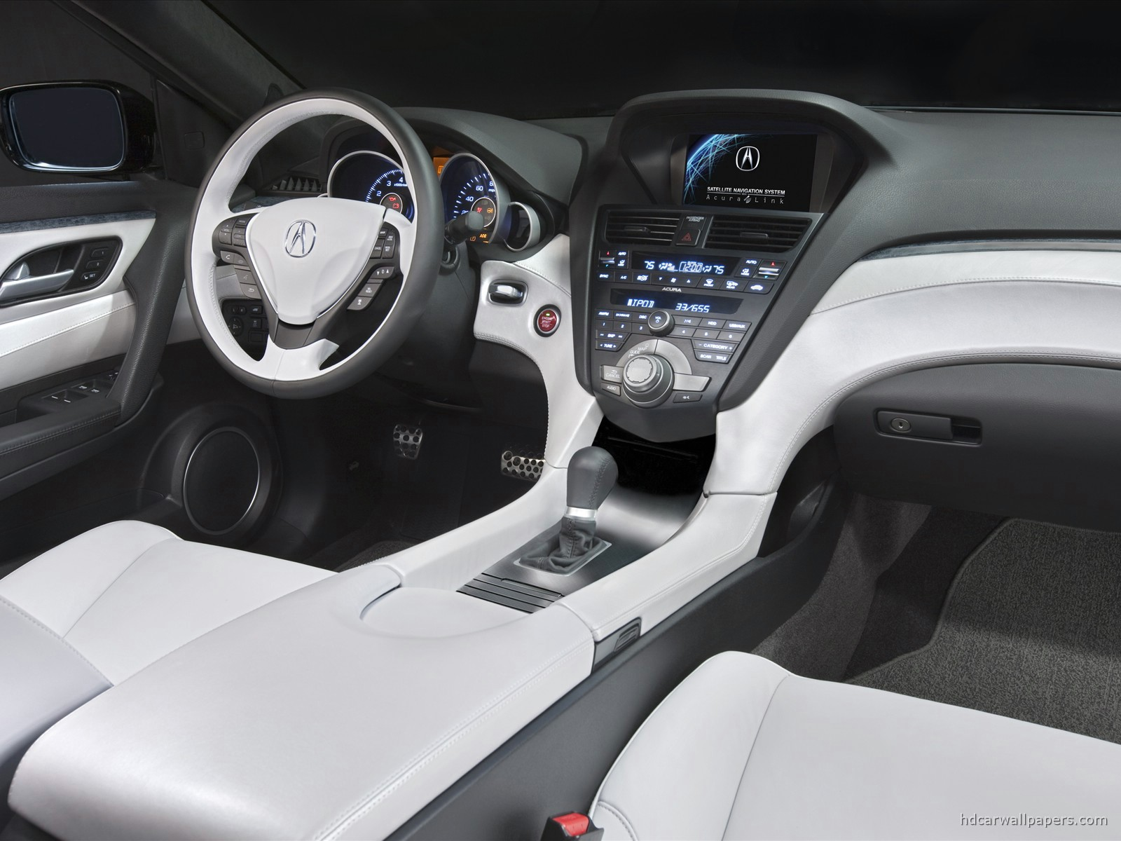 Acura Zdx Prototype Interior Wallpaper Hd Car Wallpapers