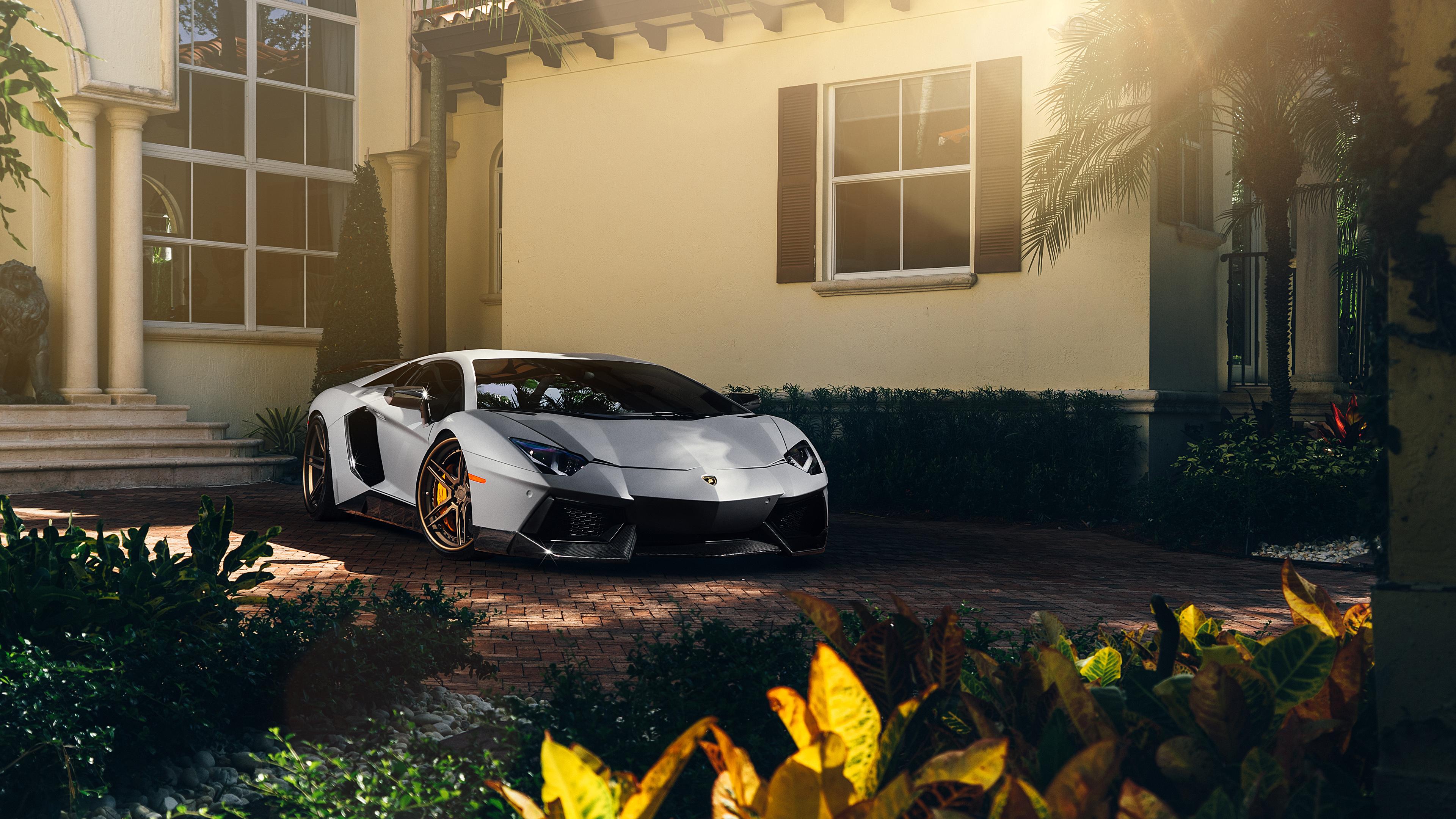 Adv1 Aventador Lamborghini Miami Wallpapers: ADV1 Matte Lamborghini Aventador Wallpaper