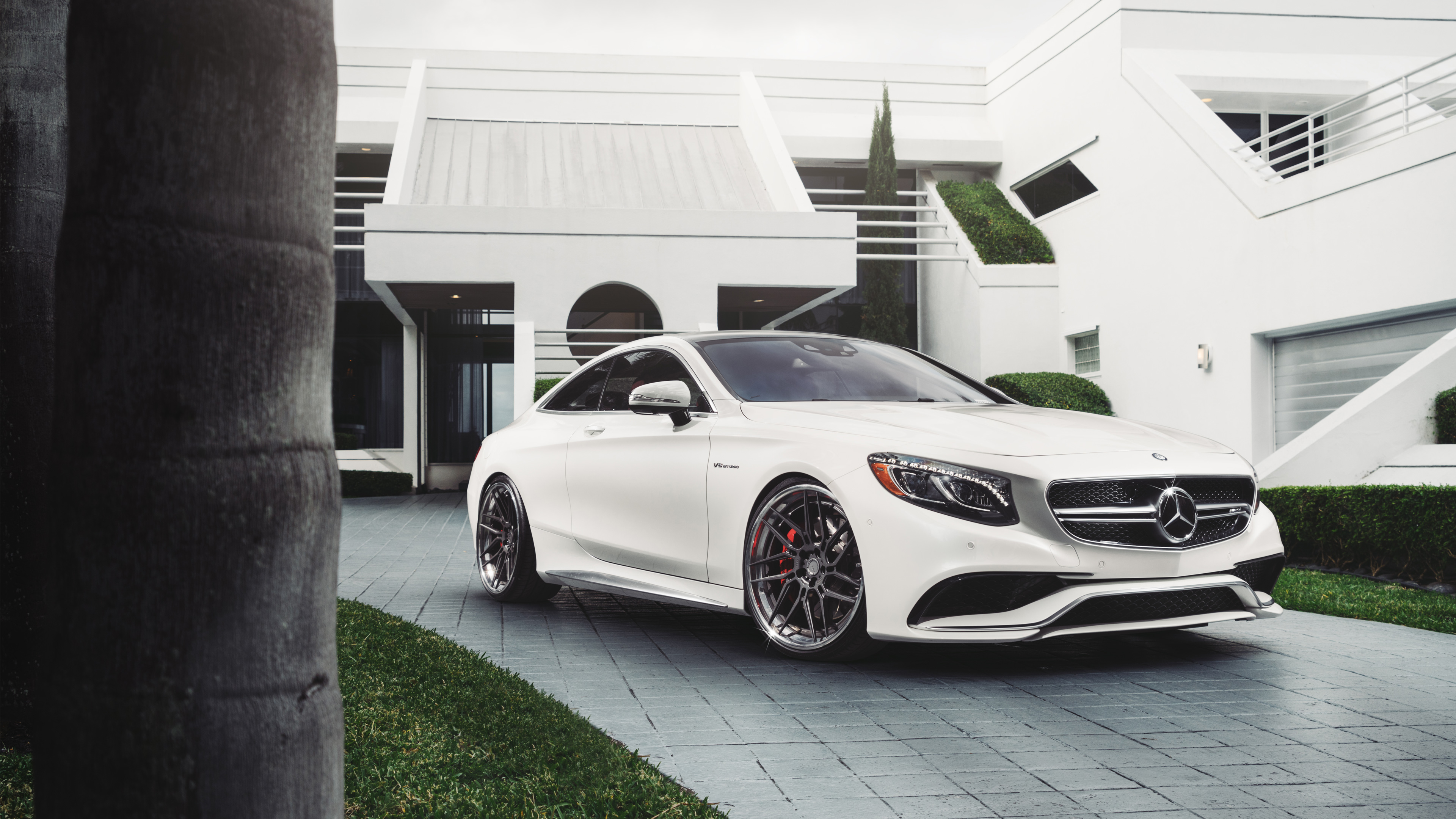 S 63 Amg Wallpaper: ADV1 Mercedes Benz S63 AMG Wallpaper