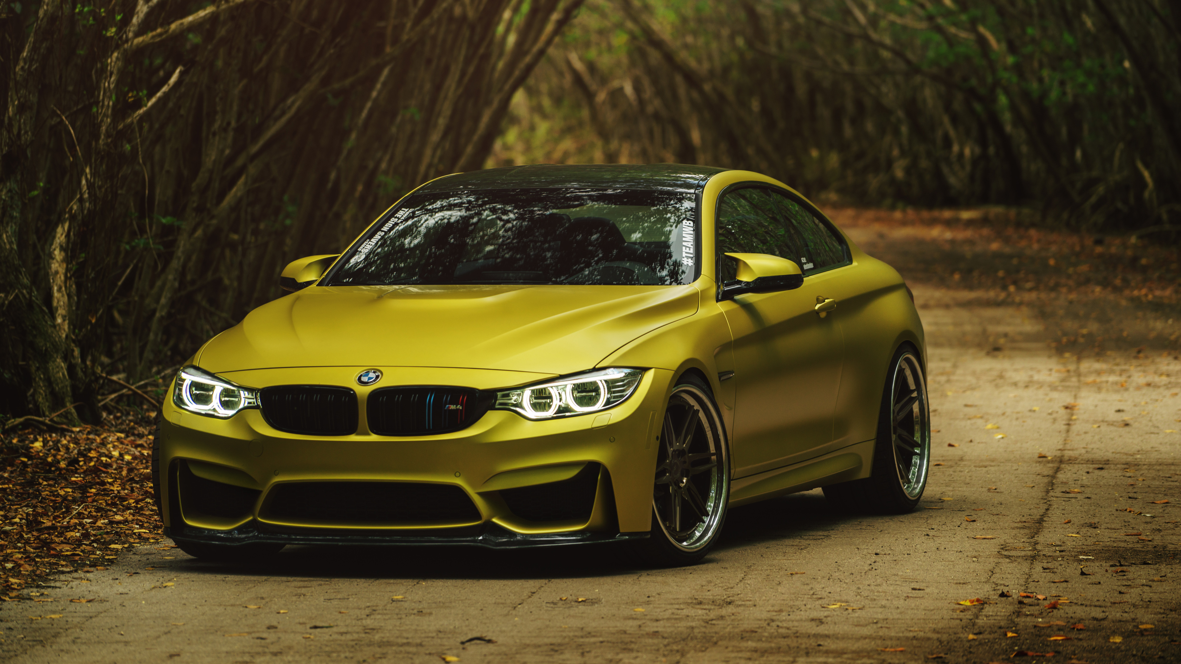 Adv1 Ss Austin Yellow Bmw M4 Wallpaper Hd Car Wallpapers