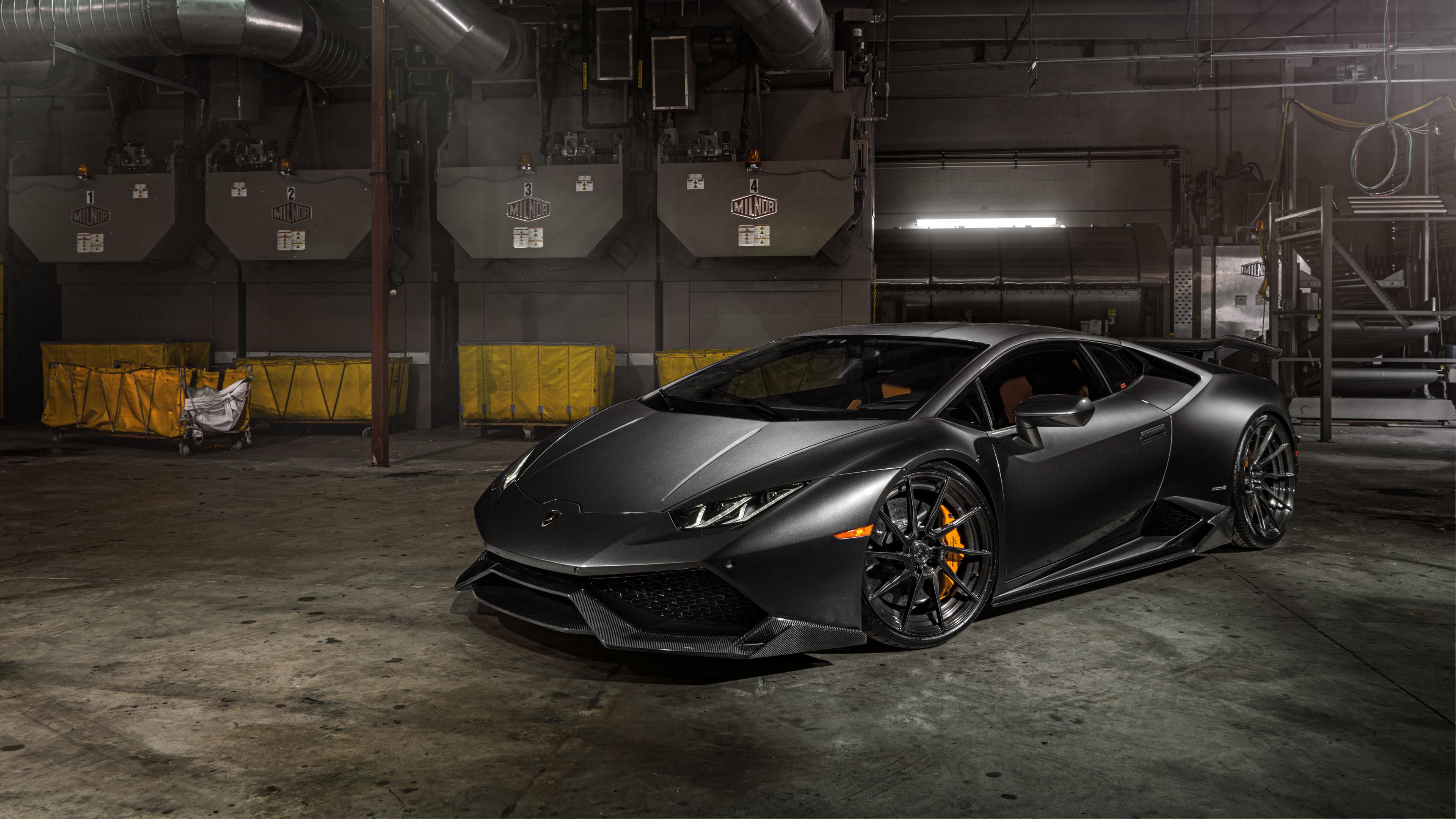 ADV1 Wheels Lamborghini Huracan 4K Wallpaper | HD Car ...