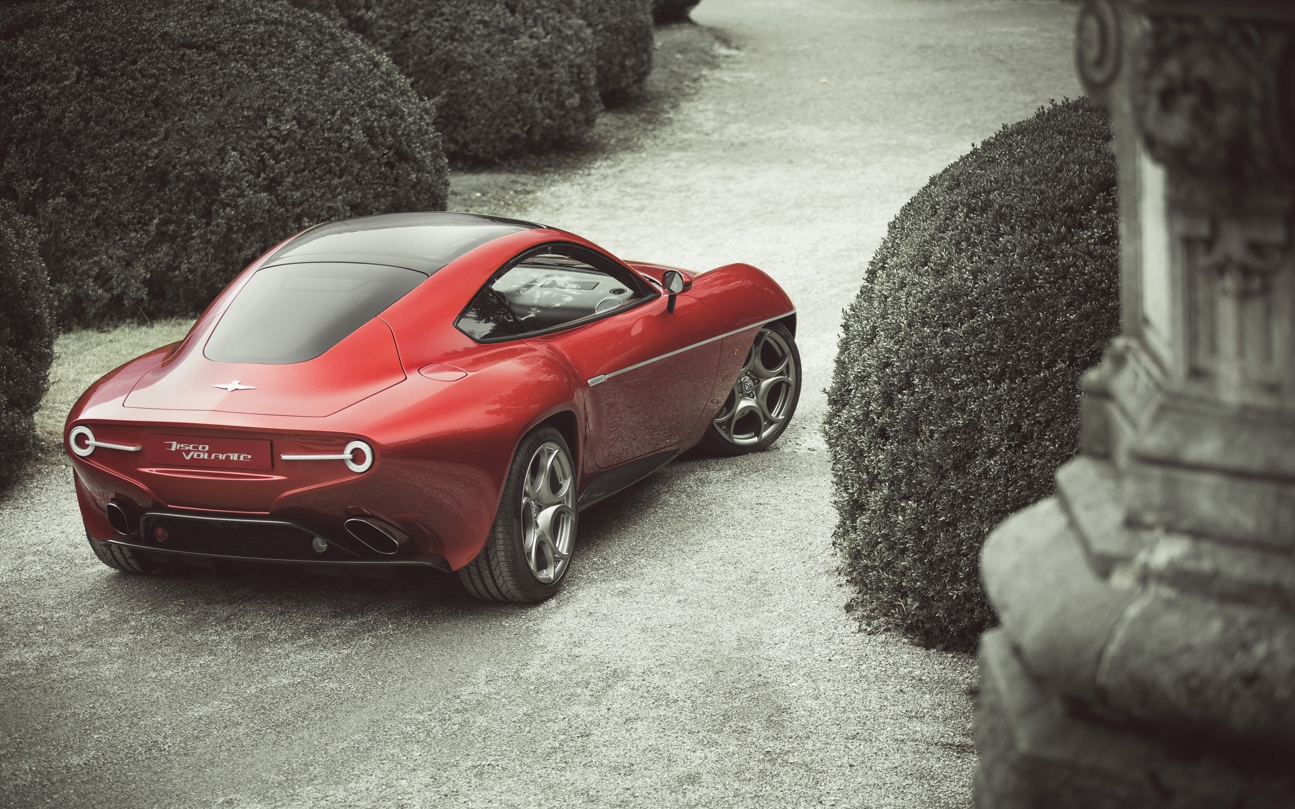 alfa romeo disco volante touring superleggera 2 wide