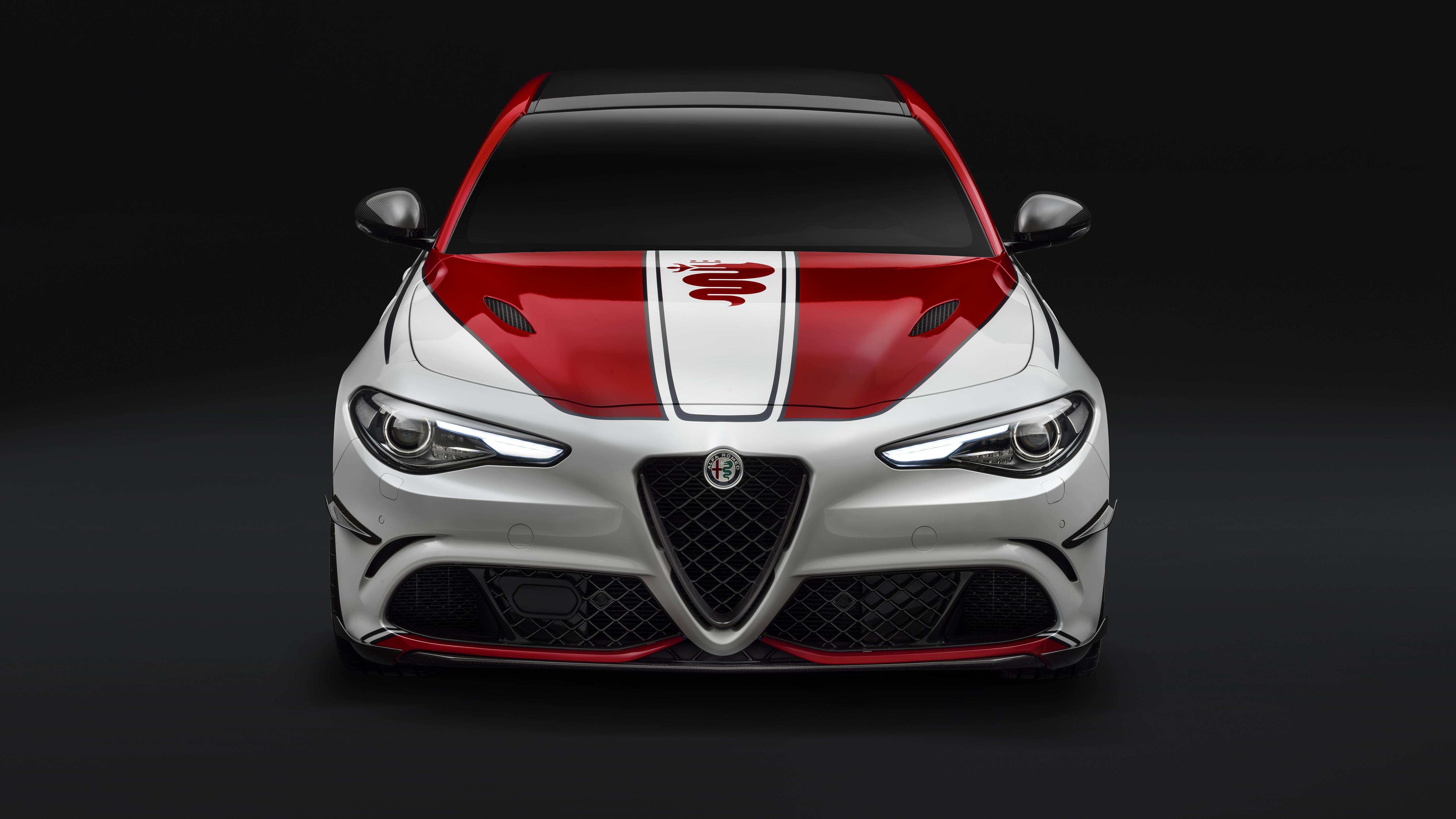 Alfa Romeo Giulia Quadrifoglio Alfa Romeo Racing 2019 4k Wallpaper