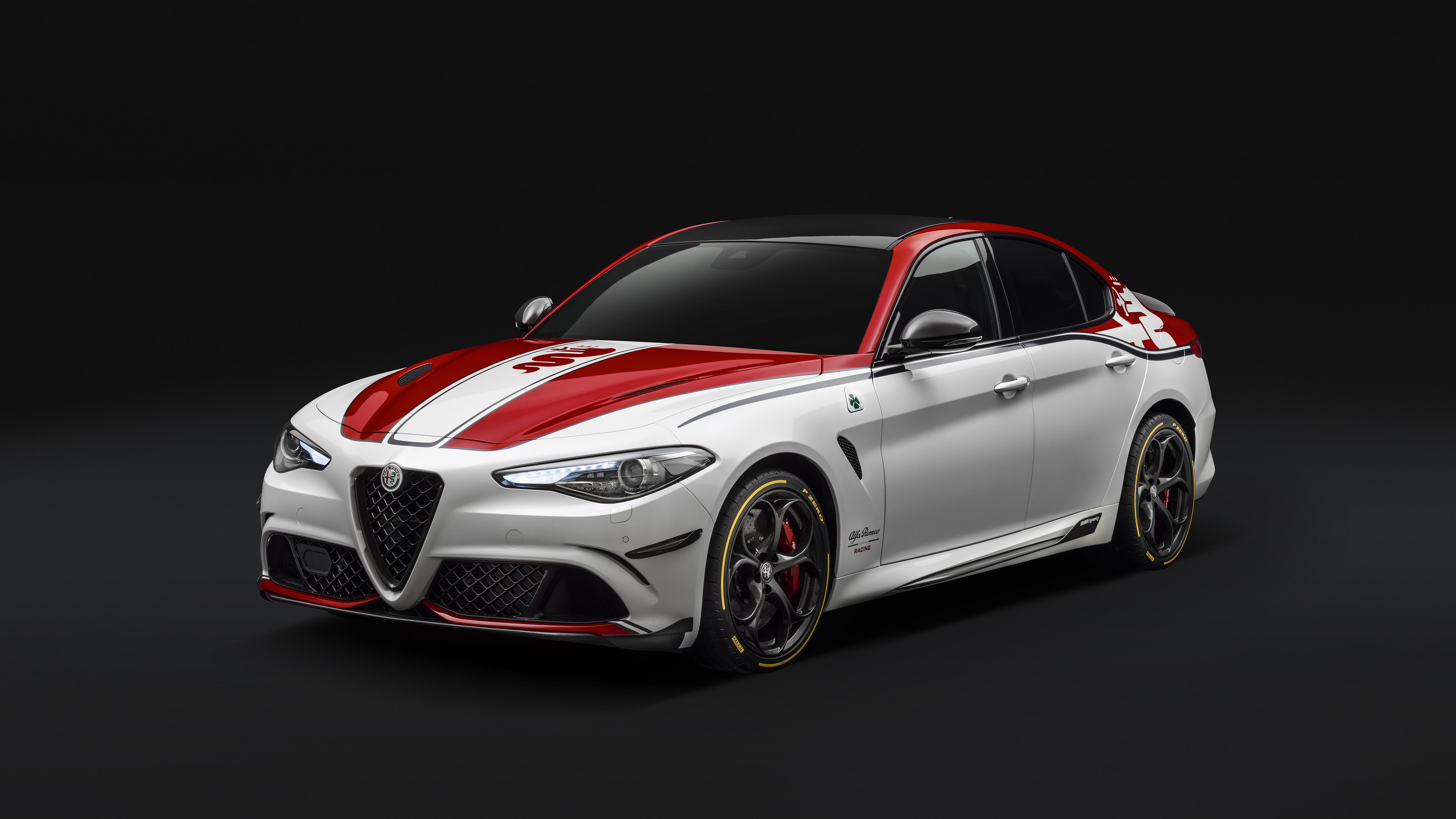 Alfa Romeo Giulia Quadrifoglio Alfa Romeo Racing 2019 4k 2
