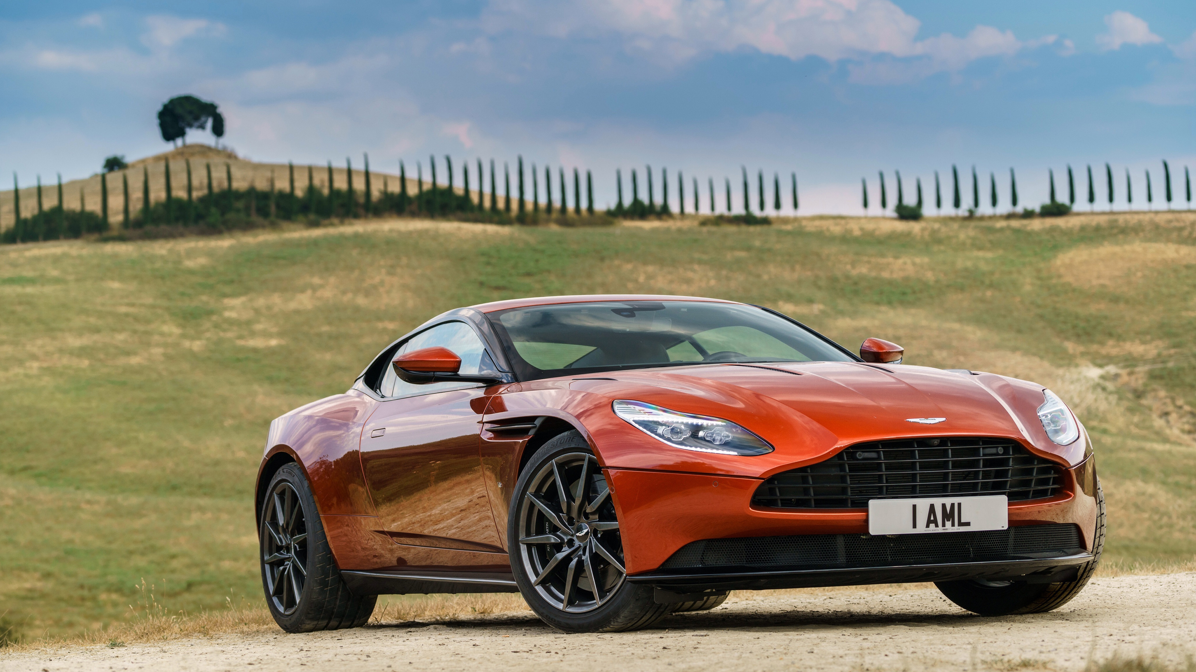 Attractive Aston Martin DB11 4K